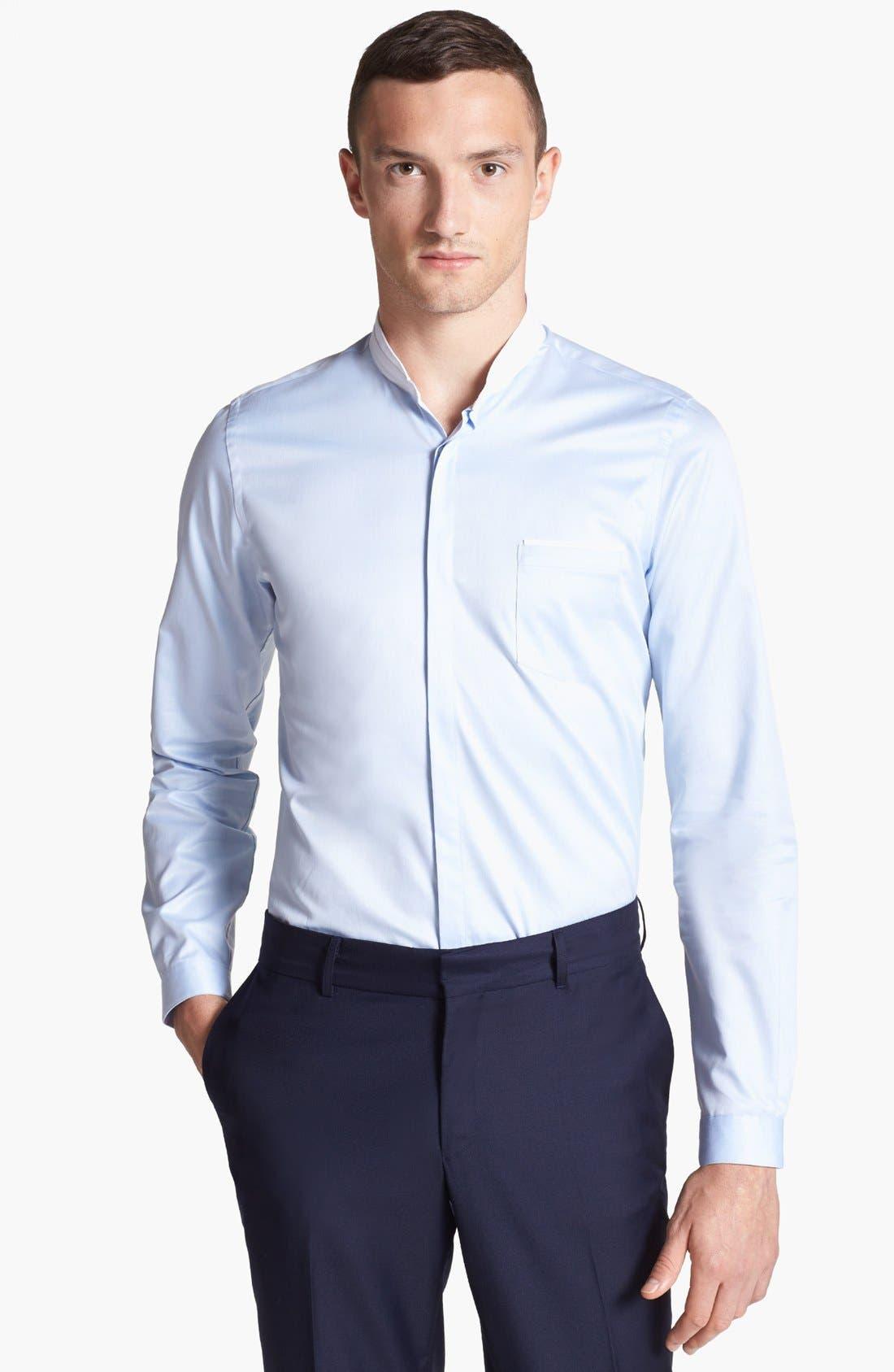 Main Image - The Kooples Round Collar Dress Shirt
