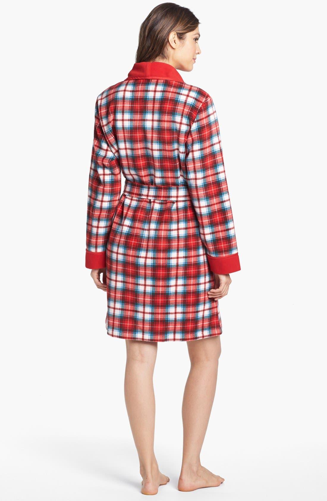 Alternate Image 2  - Lauren Ralph Lauren Shawl Collar Robe