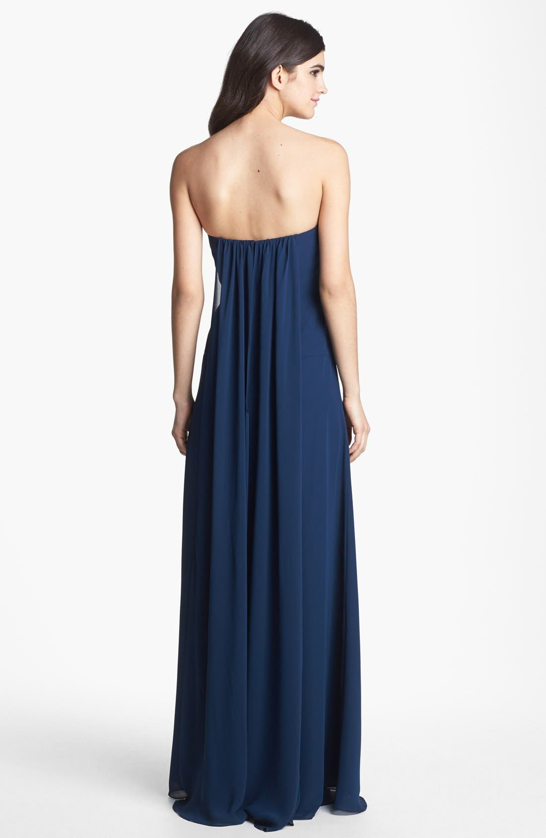 Alternate Image 2  - Faviana Sweetheart Chiffon Gown (Online Only)