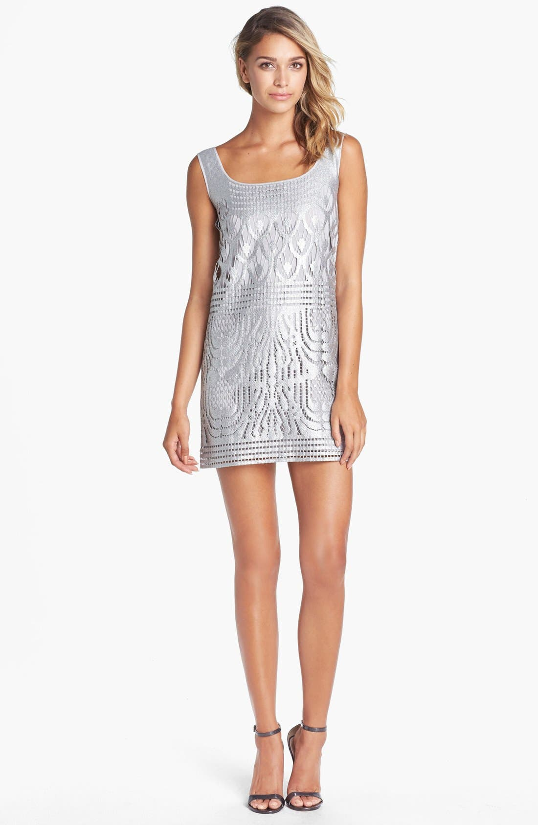 Main Image - Lilly Pulitzer® 'Arlington' Foiled Lace Shift Dress