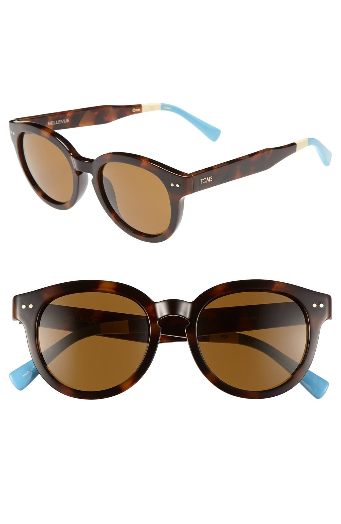 Alternate Image 1 Selected - TOMS 'Bellevue' 52mm Sunglasses
