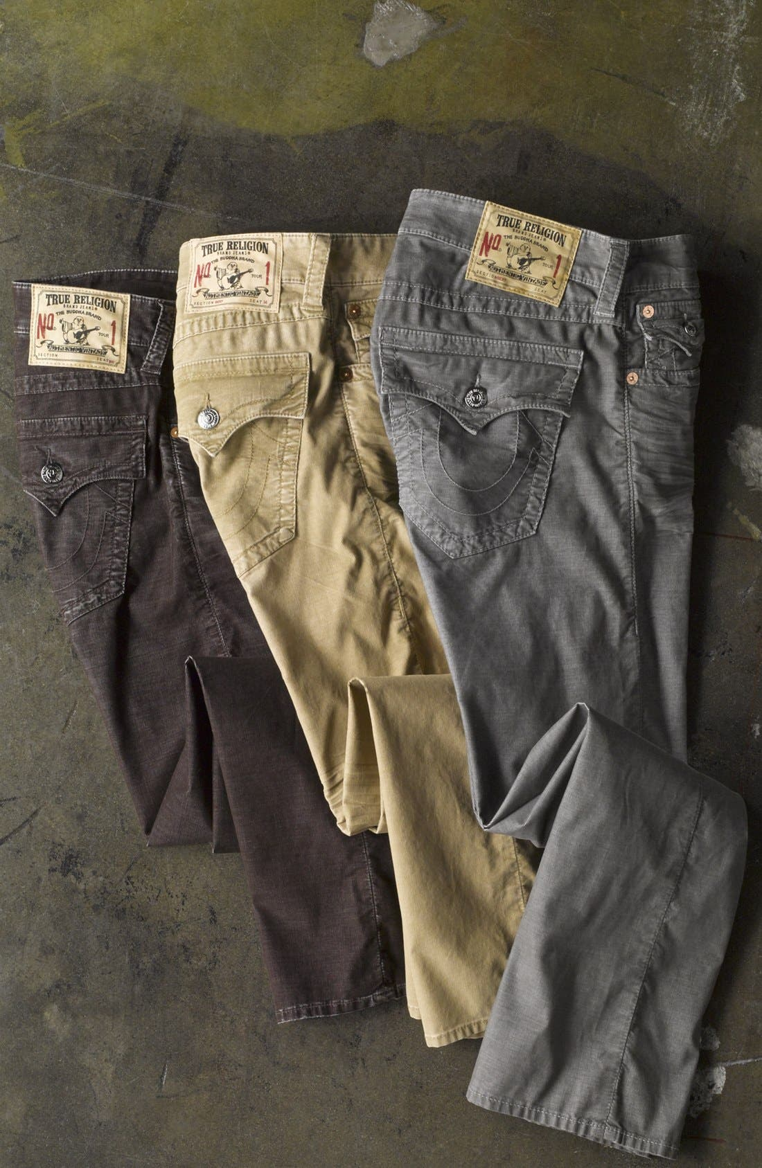 Alternate Image 2  - True Religion Brand Jeans 'Ricky' Straight Leg Corduroy Pants (Online Only)