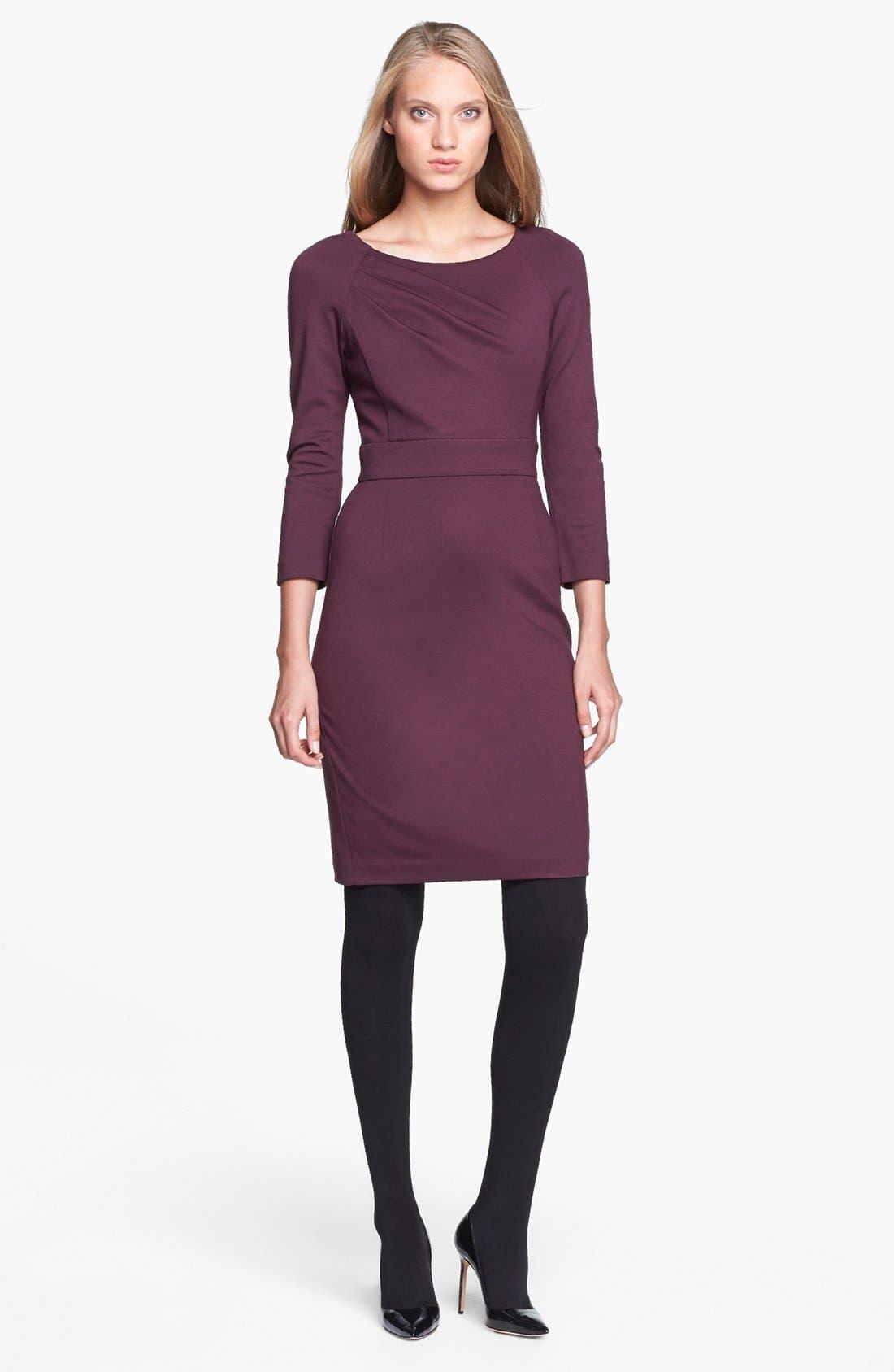 Alternate Image 1 Selected - Trina Turk 'Fenella' Ponte Sheath Dress