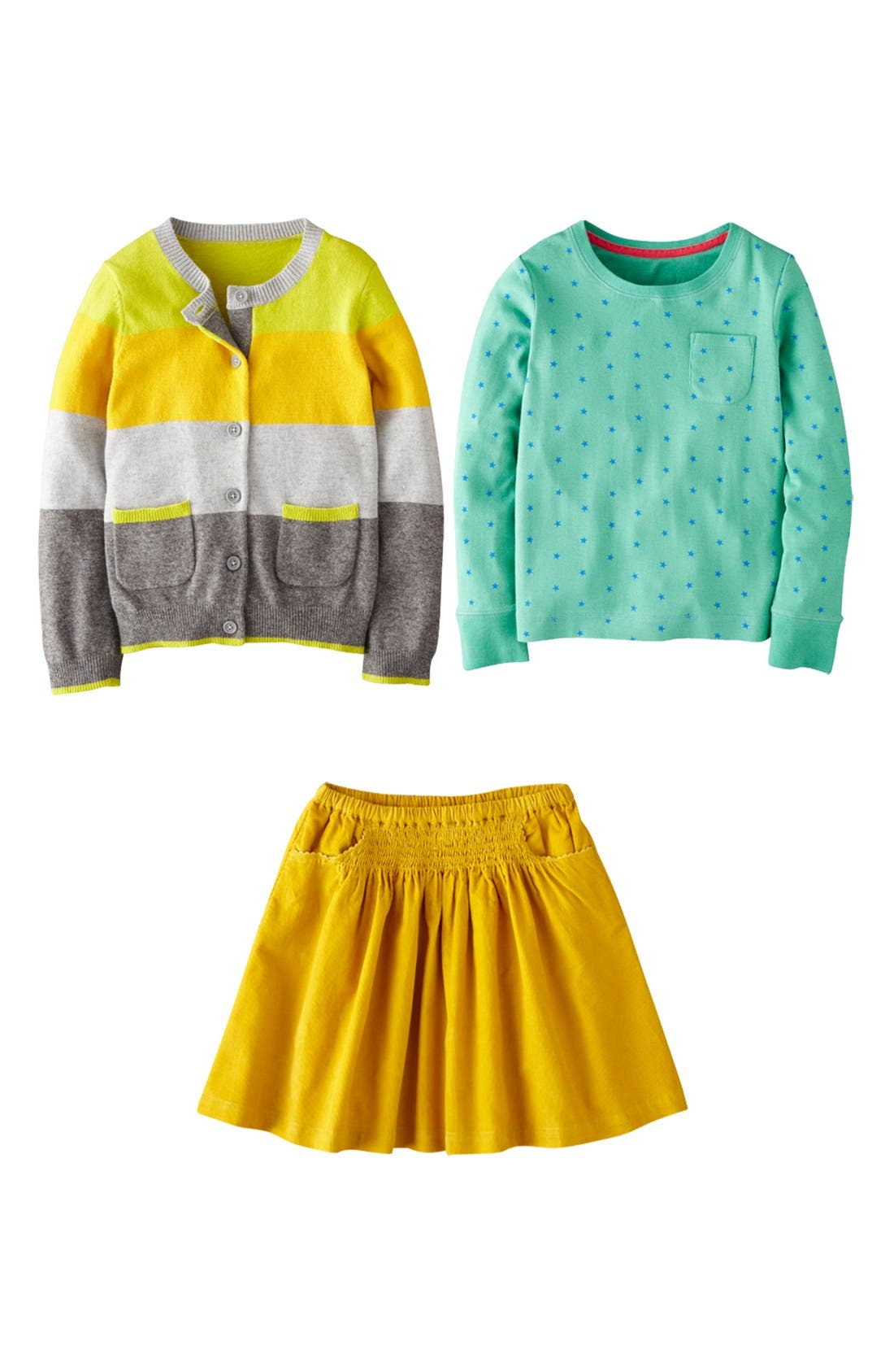 Alternate Image 3  - Mini Boden 'Everyday' Corduroy Skirt (Little Girls & Big Girls)