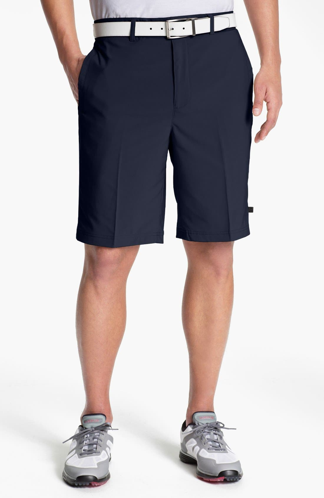 Main Image - Zero Restriction 'Links Tech' Golf Shorts