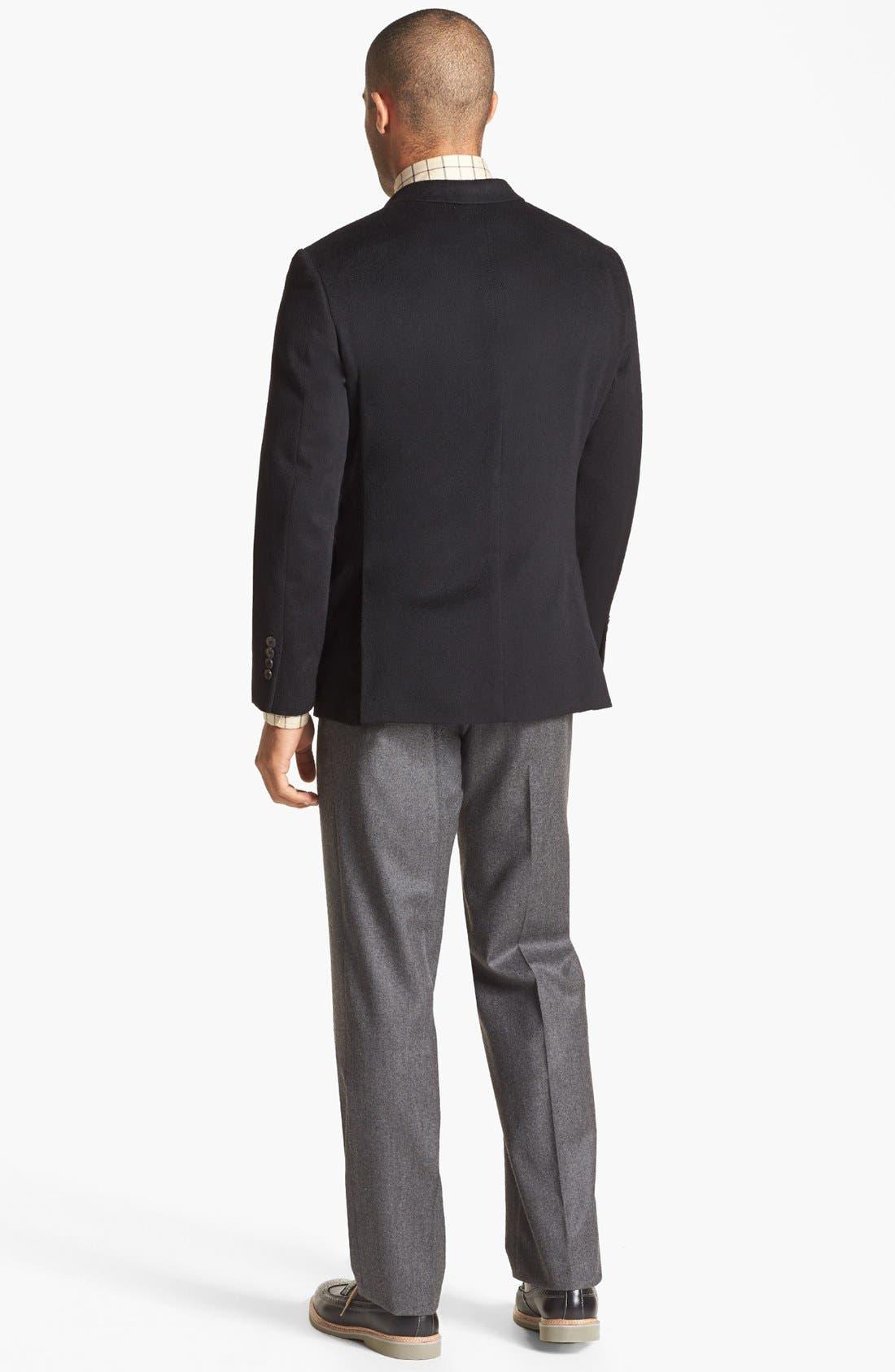 Alternate Image 5  - John W. Nordstrom® Signature Cashmere Blazer