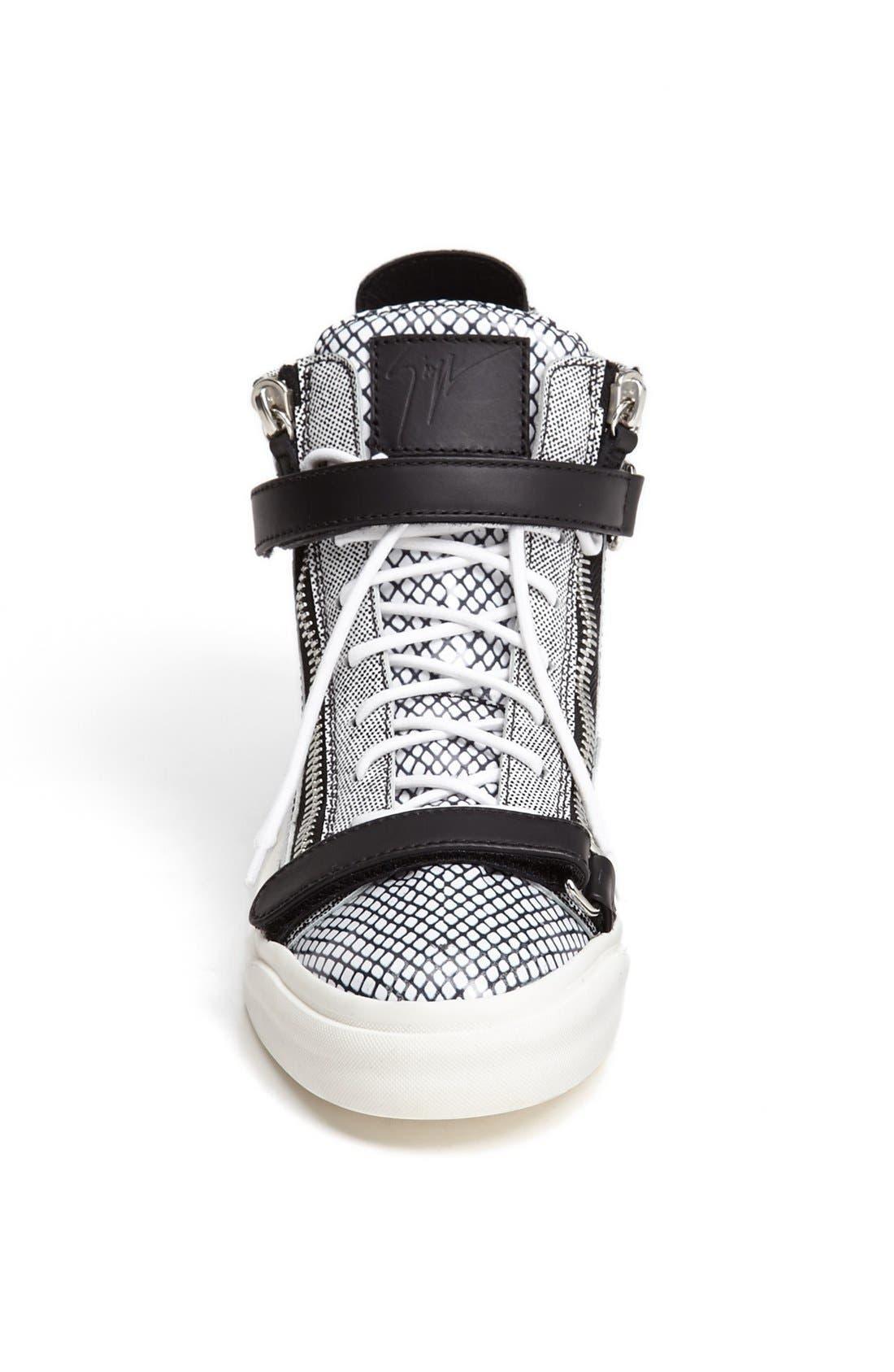 Alternate Image 3  - Giuseppe Zanotti High Top Sneaker