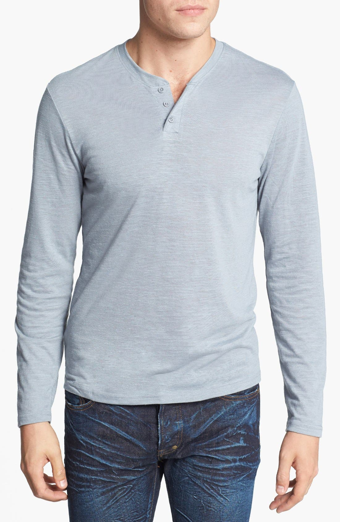 Alternate Image 1 Selected - The Rail Long Sleeve Henley