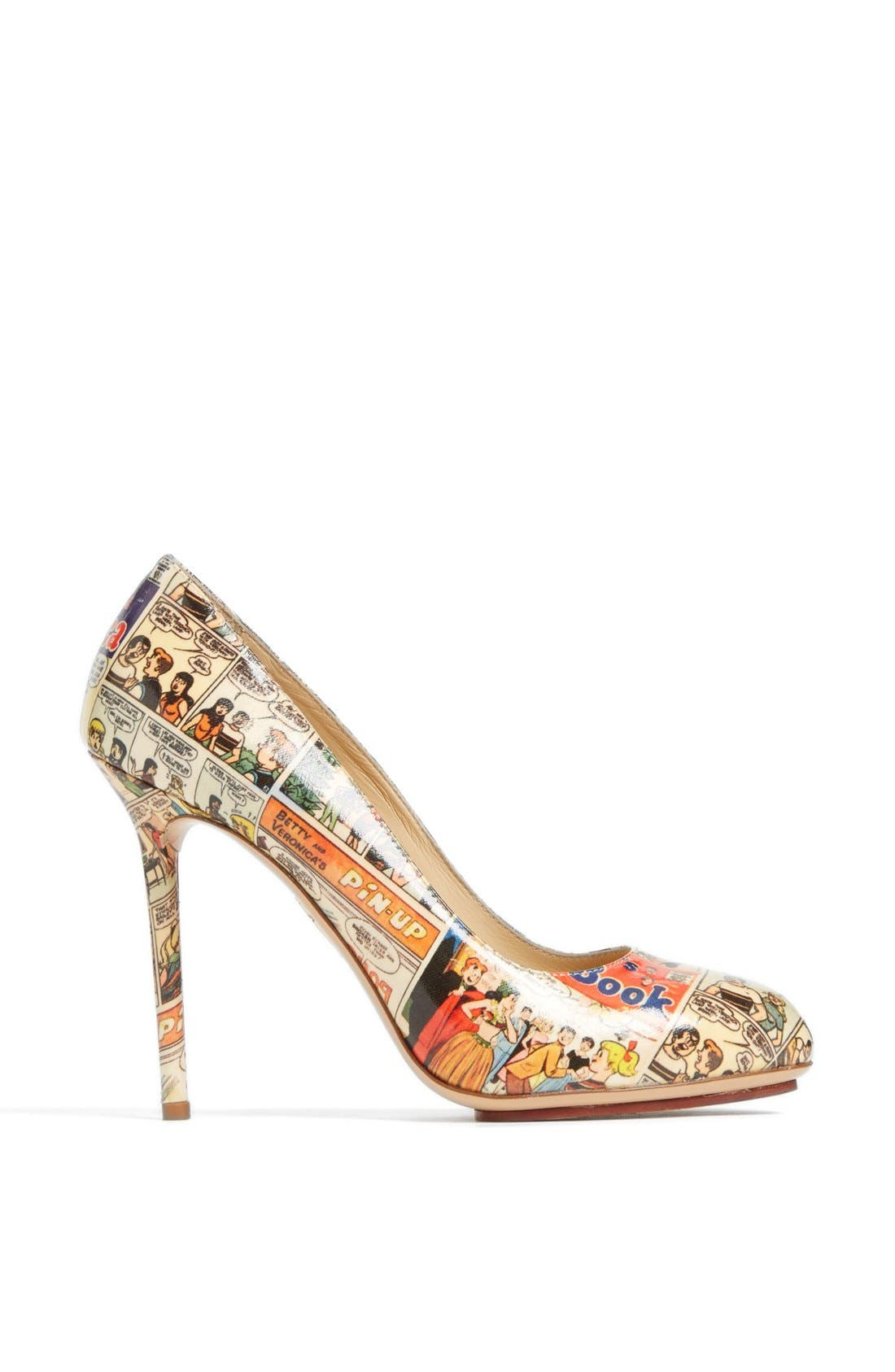 Alternate Image 4  - Charlotte Olympia 'Jennifer Comic' Pump (Nordstrom Exclusive)
