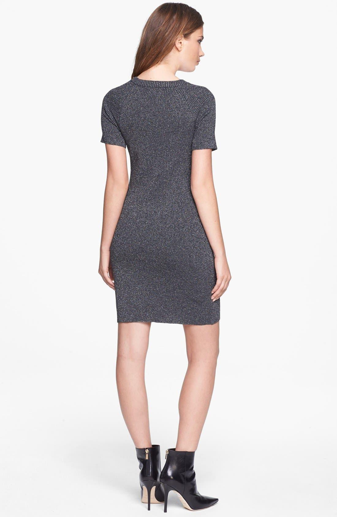 Alternate Image 2  - Leith Engineered Sheen Dress
