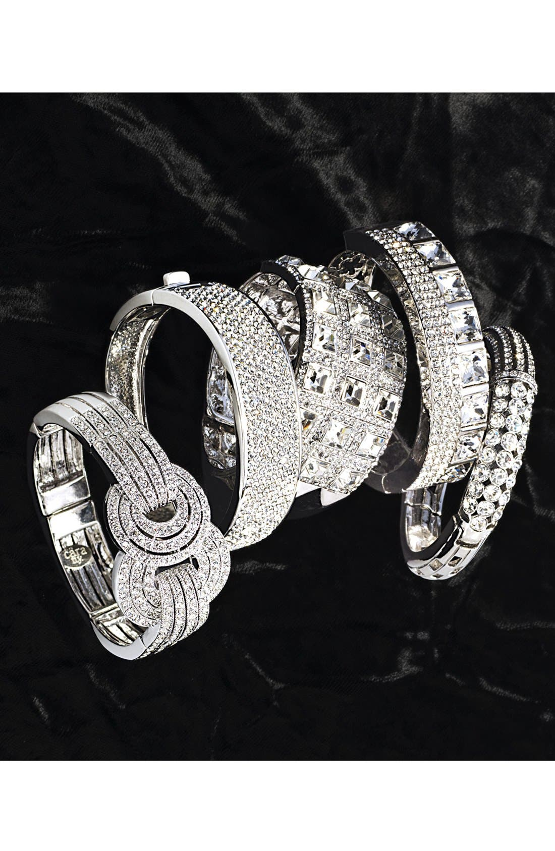 Alternate Image 2  - Cara Pavé Hinged Bracelet