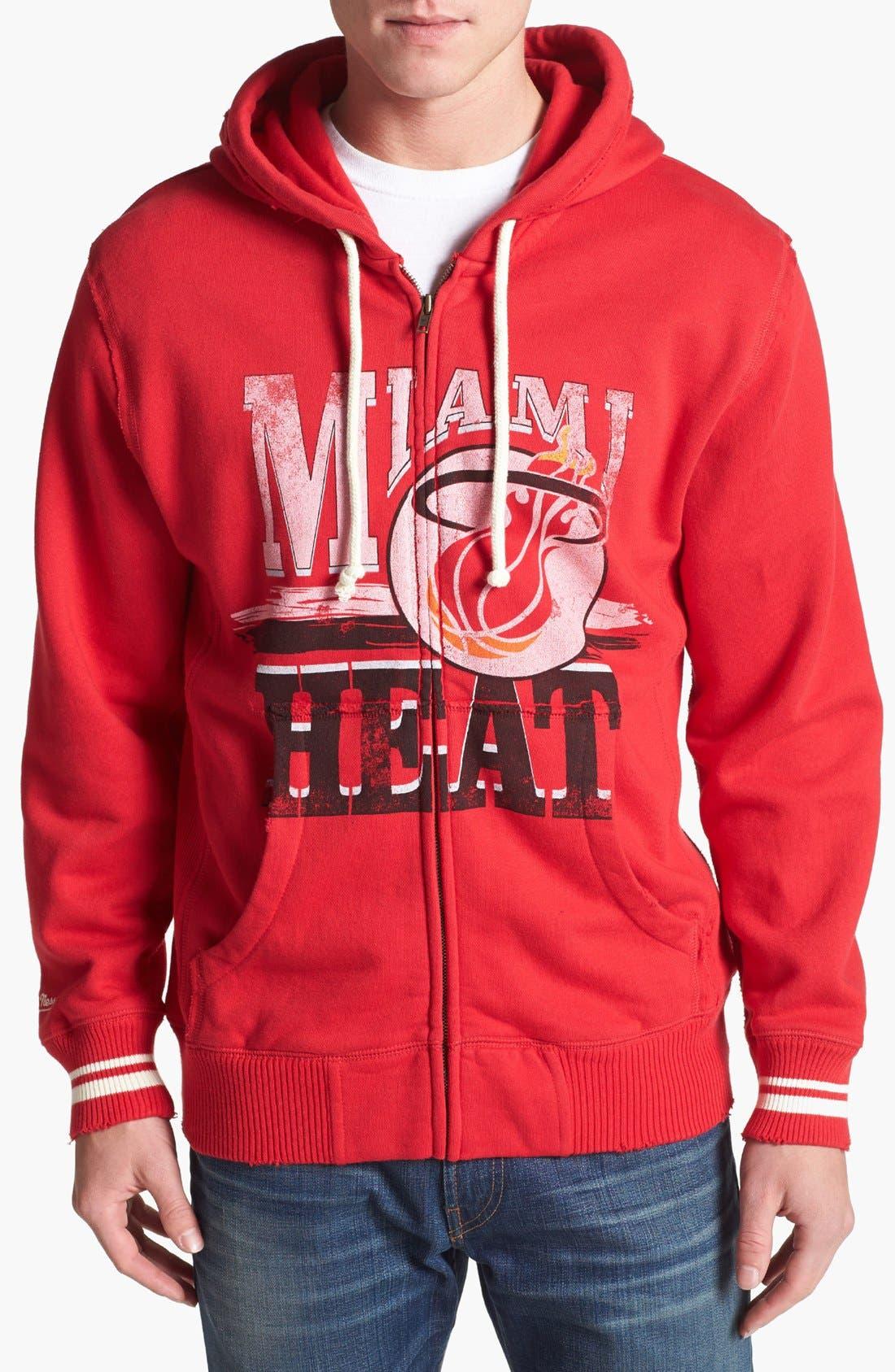 Alternate Image 1 Selected - Mitchell & Ness 'Miami Heat' Hoodie