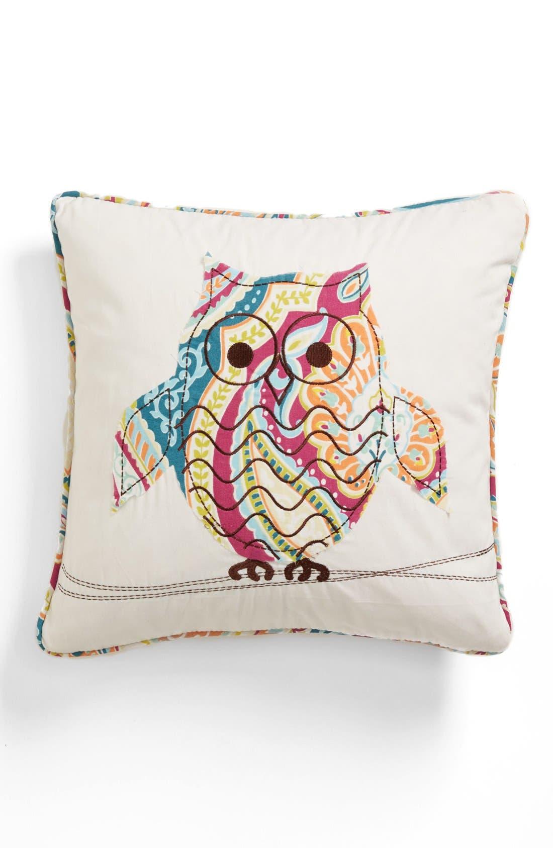 Alternate Image 1 Selected - Levtex 'Magnolia Owl' Pillow