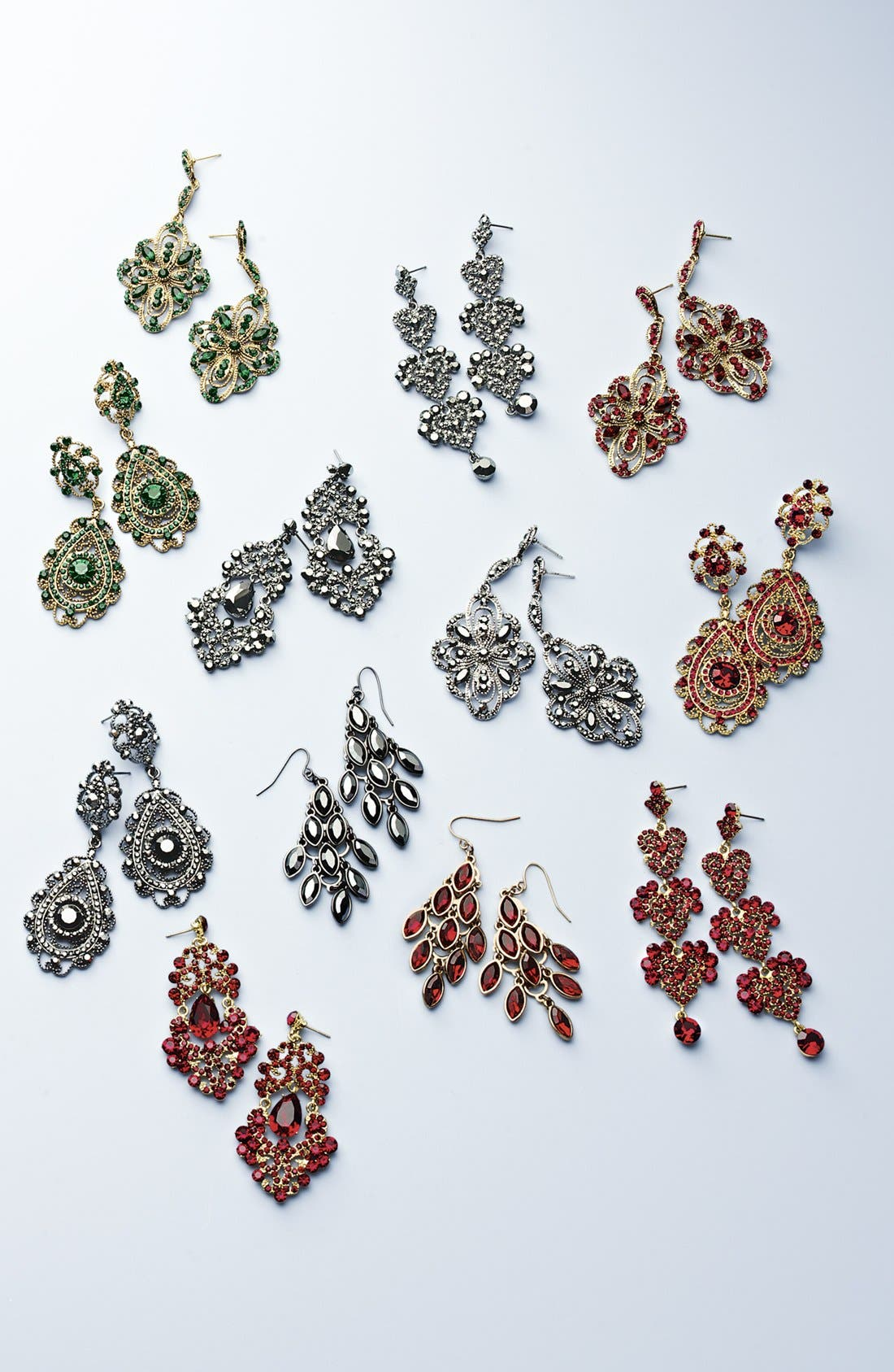 Alternate Image 3  - Tasha Crystal Chandelier Earrings