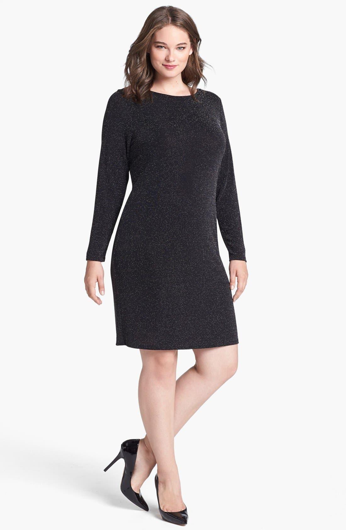 Main Image - MICHAEL Michael Kors Back Drape Dress