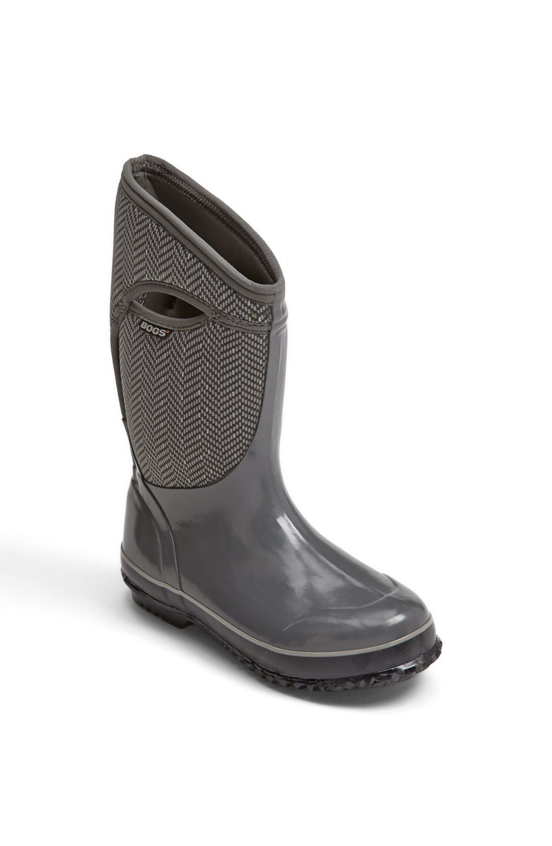 Alternate Image 1 Selected - Bogs Footwear 'Plimsoll' Boot (Little Kid & Big Kid)