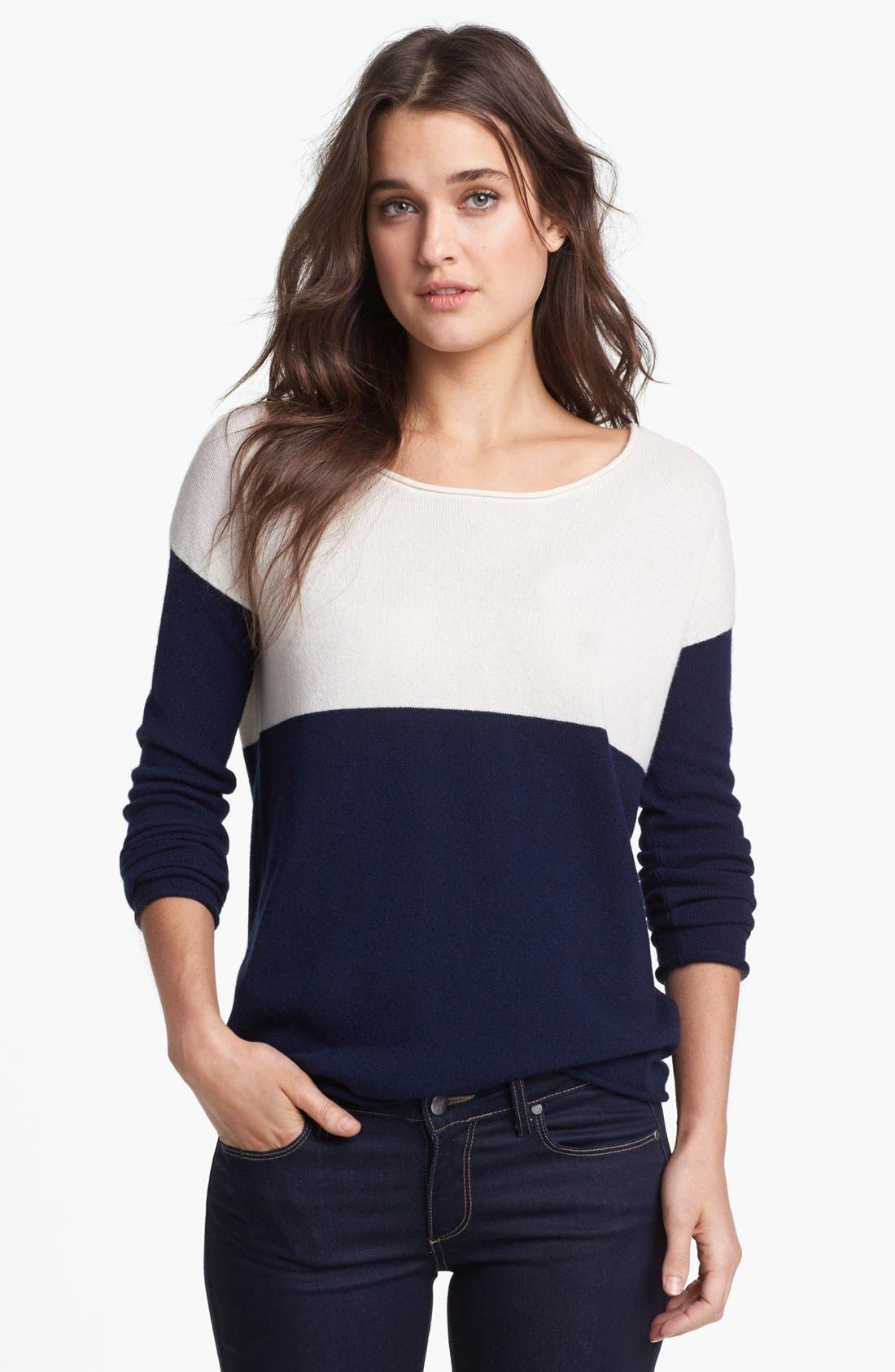 Alternate Image 1 Selected - Splendid Colorblock Sweater