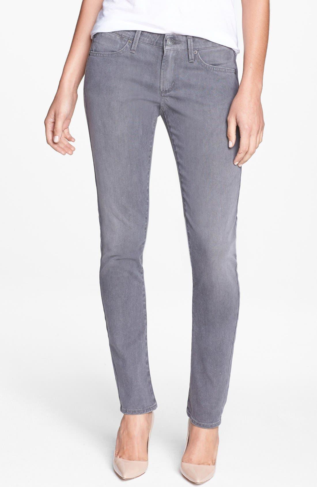 Alternate Image 1 Selected - A Gold E 'Chloe' Slim Straight Leg Jeans (Lyon)