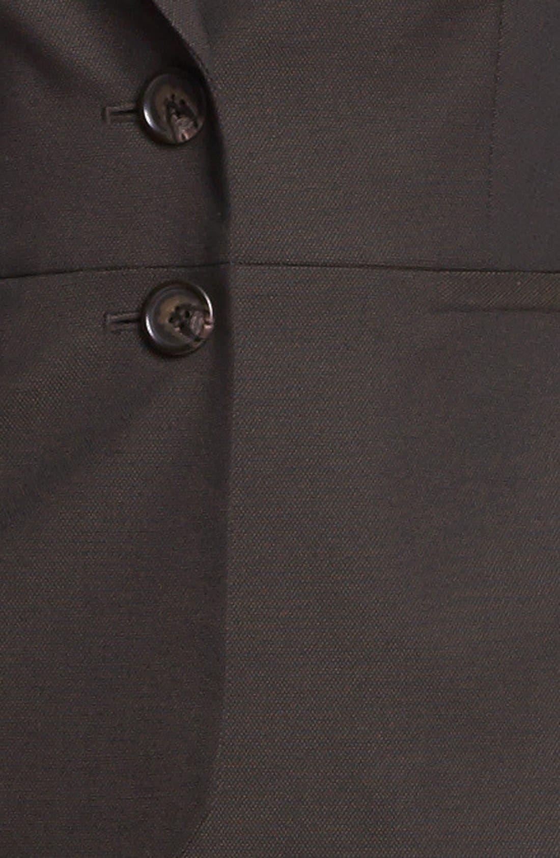 Alternate Image 3  - Halogen® Suit Jacket (Petite)