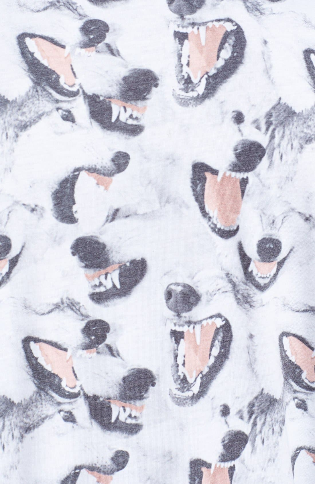Alternate Image 3  - Topman Canine Print T-Shirt