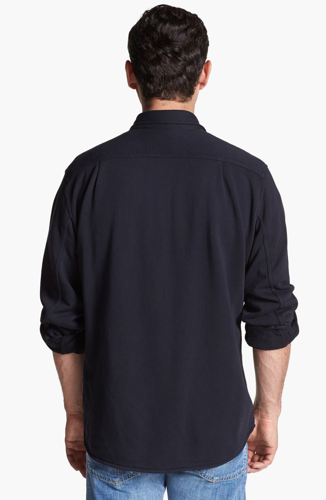 Alternate Image 2  - Grayers 'CPO' Button Front French Terry Sweatshirt