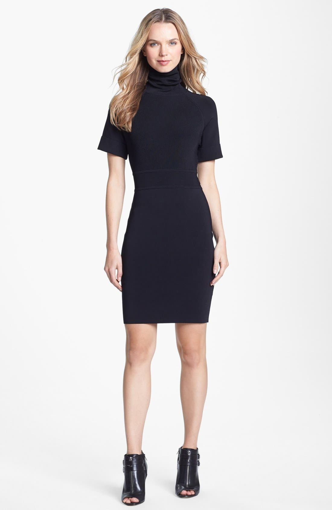 Main Image - Vince Camuto Turtleneck Dress