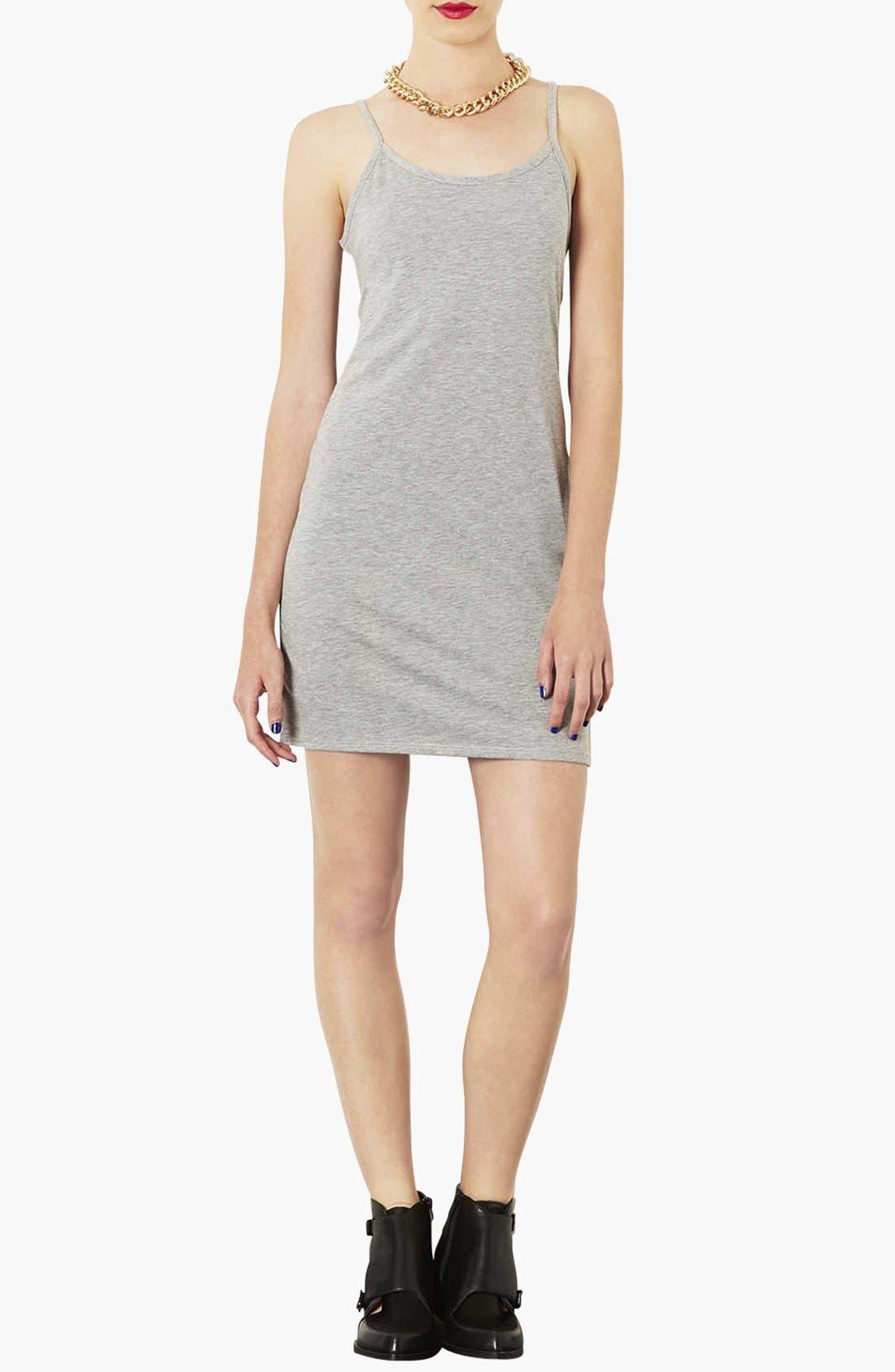 Main Image - Topshop Strappy Tank Dress