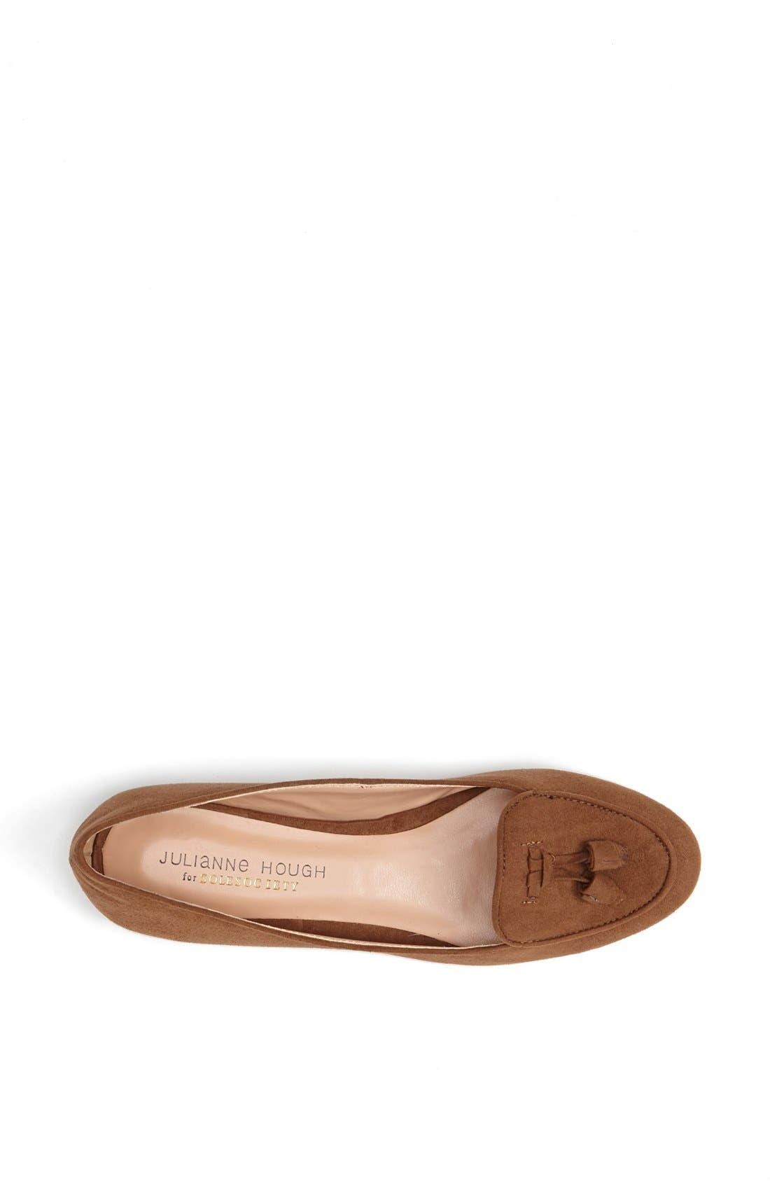 Alternate Image 3  - Julianne Hough for Sole Society 'Cambria' Smoking Slipper Flat