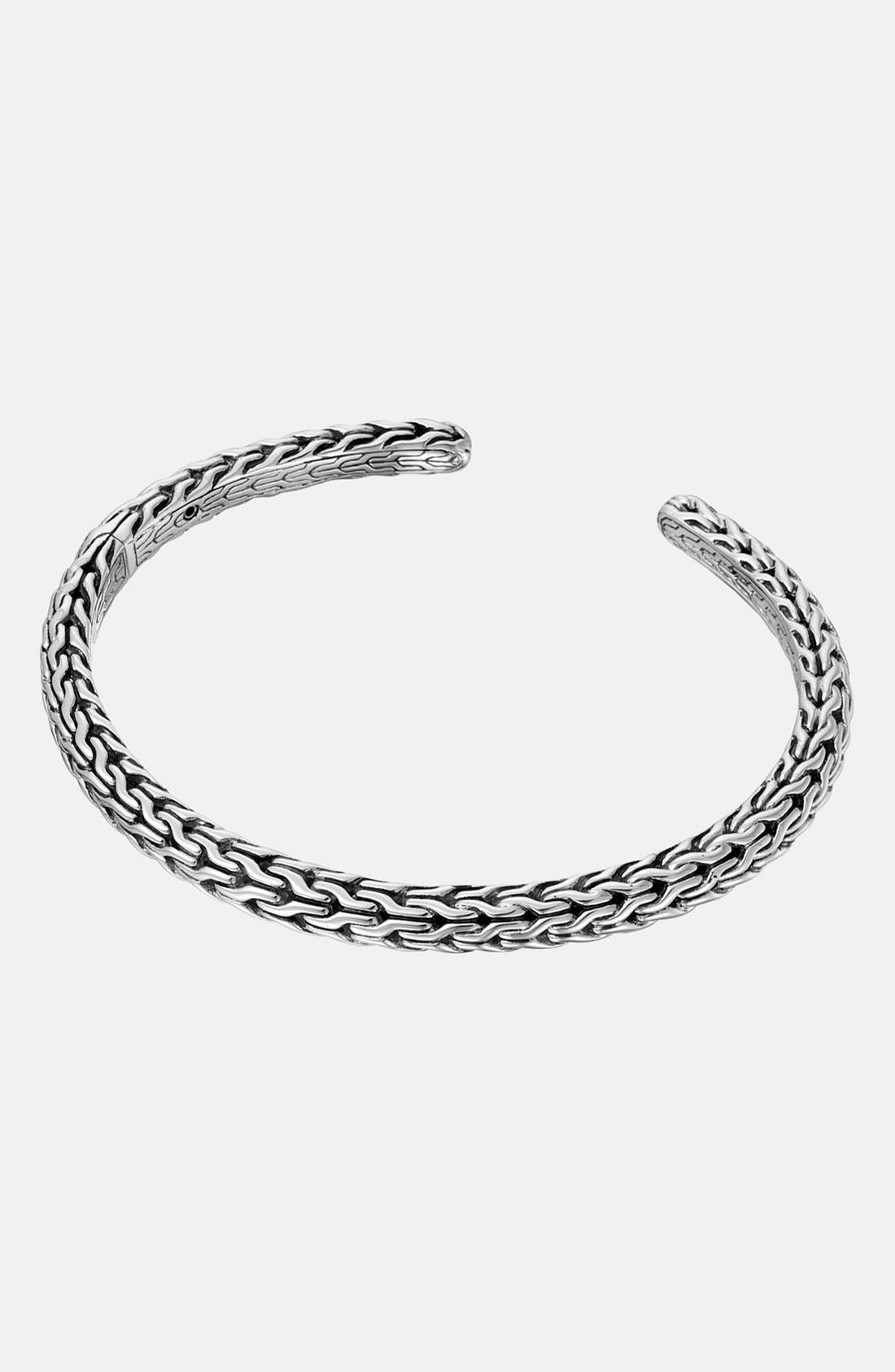 Alternate Image 1 Selected - John Hardy 'Classic Chain' Hinged Kick Cuff