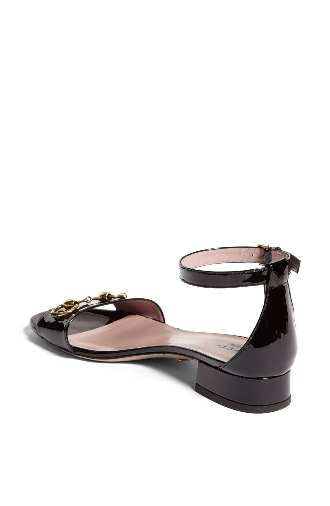 Alternate Image 2  - Gucci 'Liliane' Ankle Strap Sandal