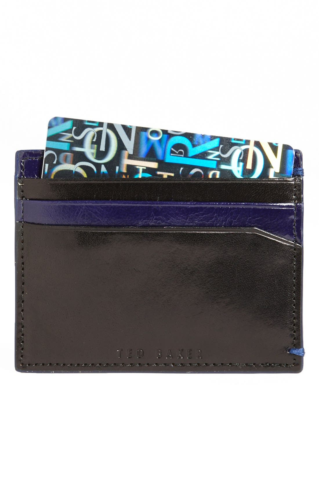 Alternate Image 1 Selected - Ted Baker London 'Goodkid' Card Wallet