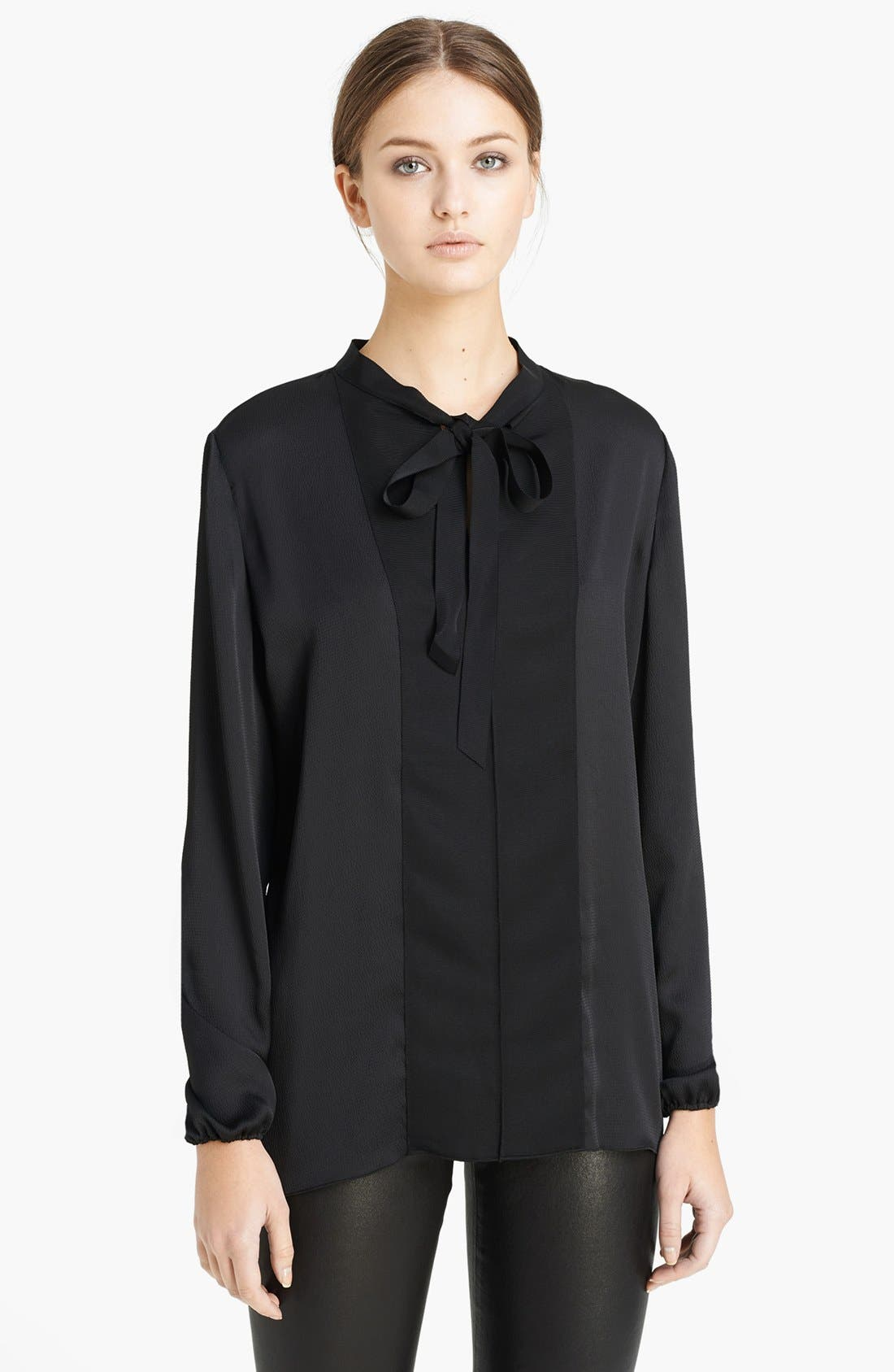 Main Image - Lanvin Grosgrain Bow Blouse