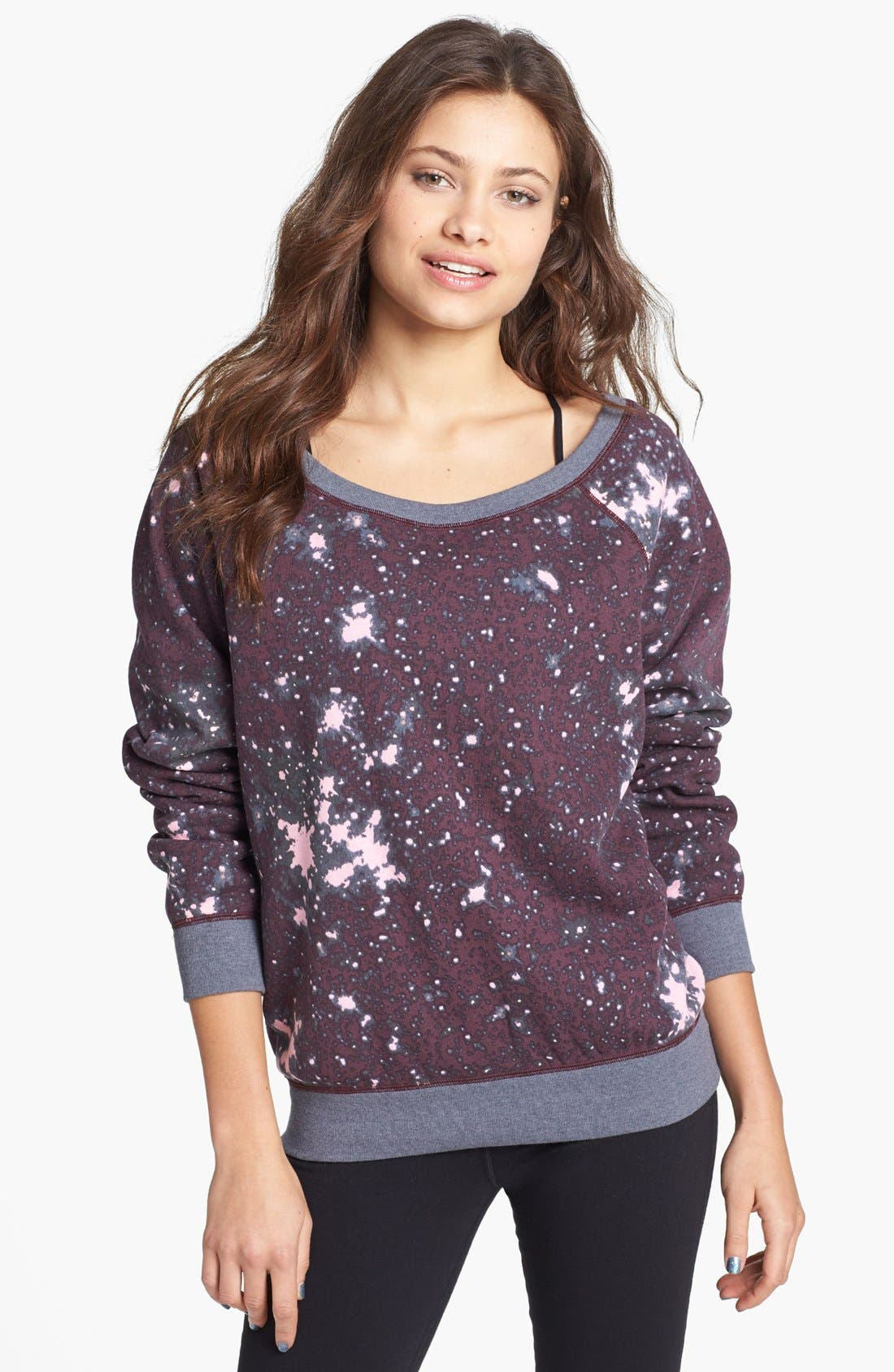 Alternate Image 1 Selected - Unit-Y Galaxy Print Pullover