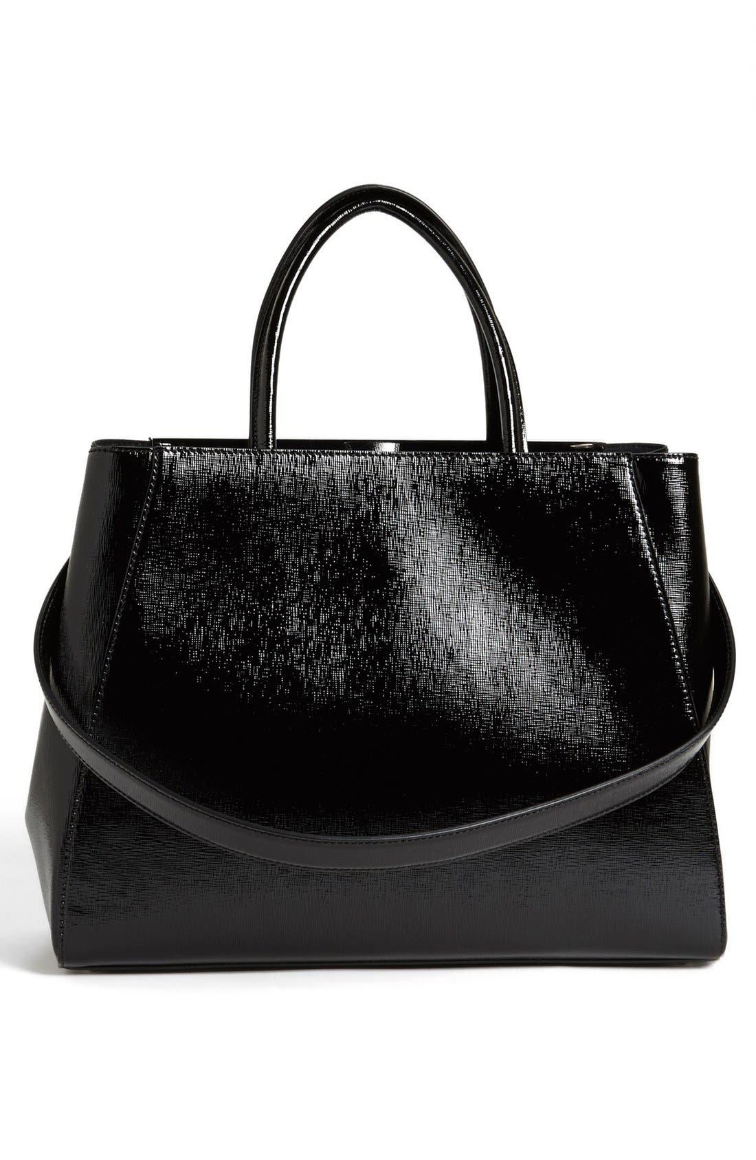Alternate Image 4  - Fendi 'Medium 2Jours' Leather Shopper