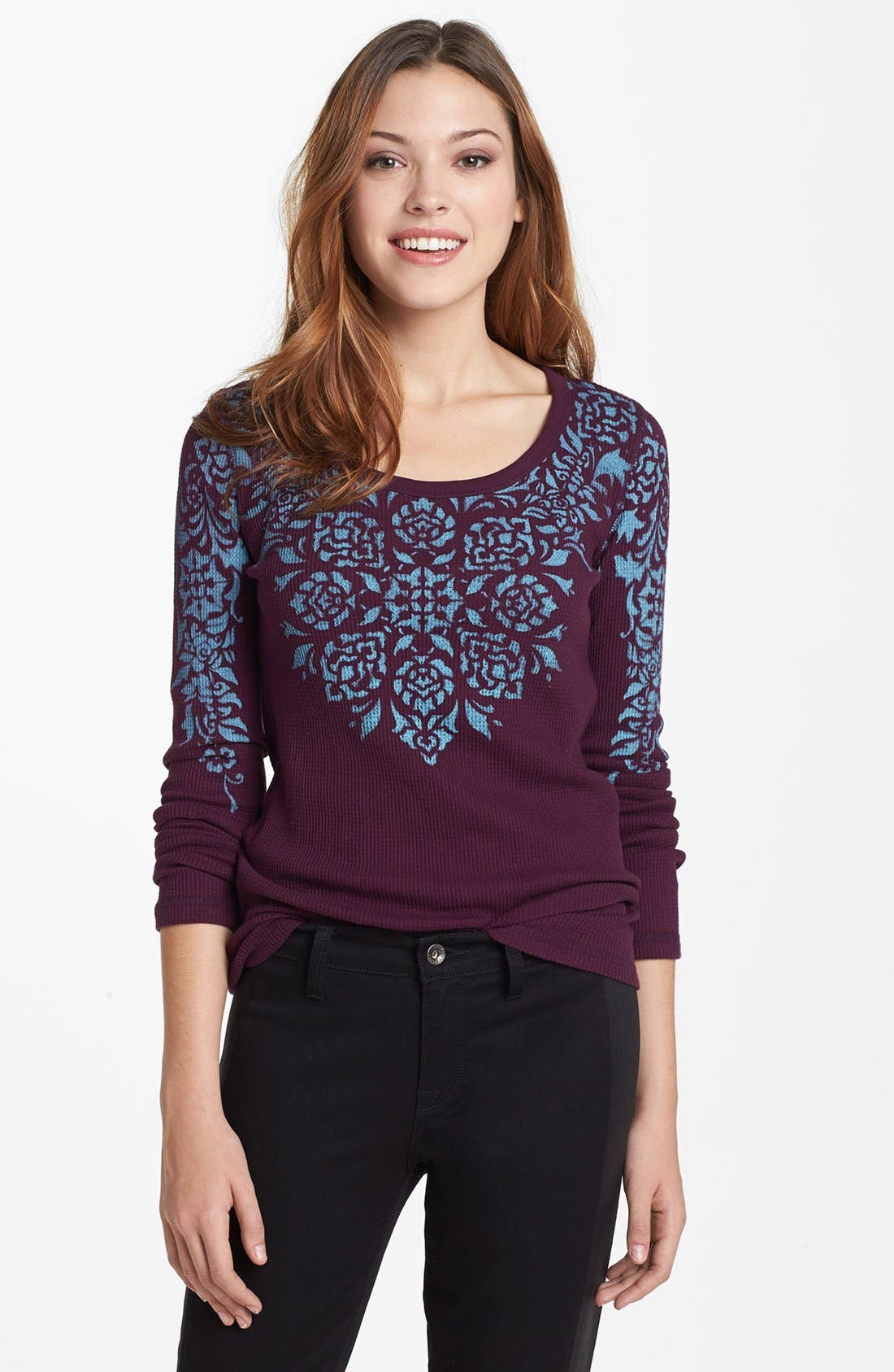 Alternate Image 1 Selected - Lucky Brand 'Garland' Thermal