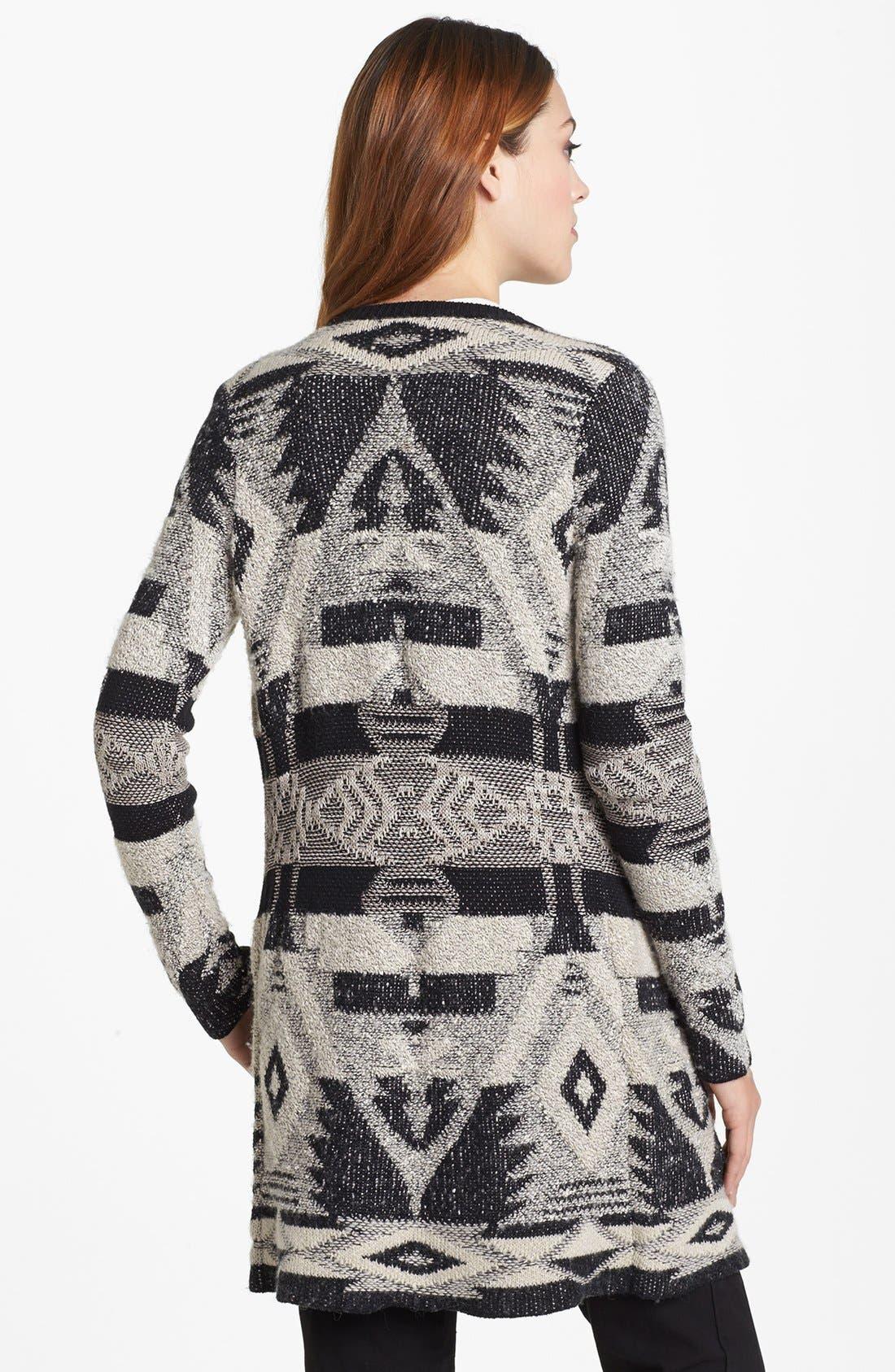 Alternate Image 2  - Lucky Brand Tribal Pattern Cardigan