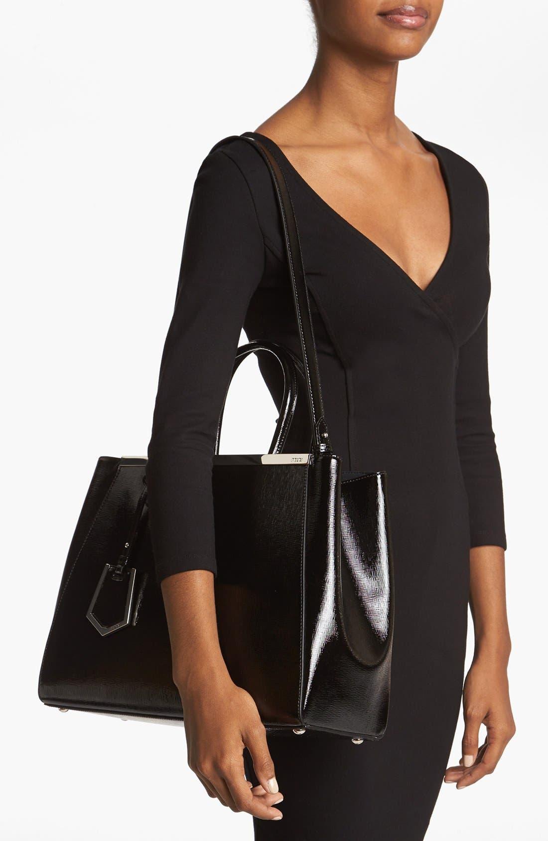 Alternate Image 2  - Fendi 'Medium 2Jours' Leather Shopper