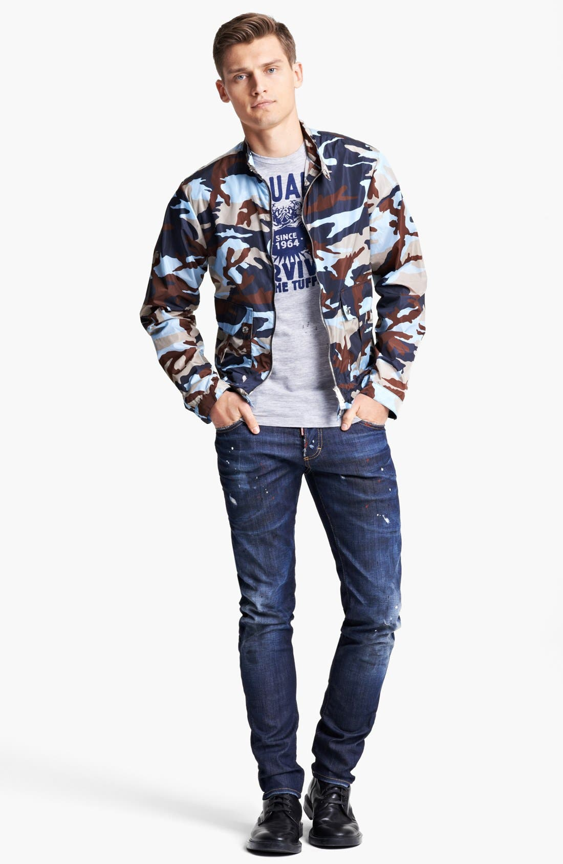 Alternate Image 4  - Dsquared2 Lightweight Camo Jacket