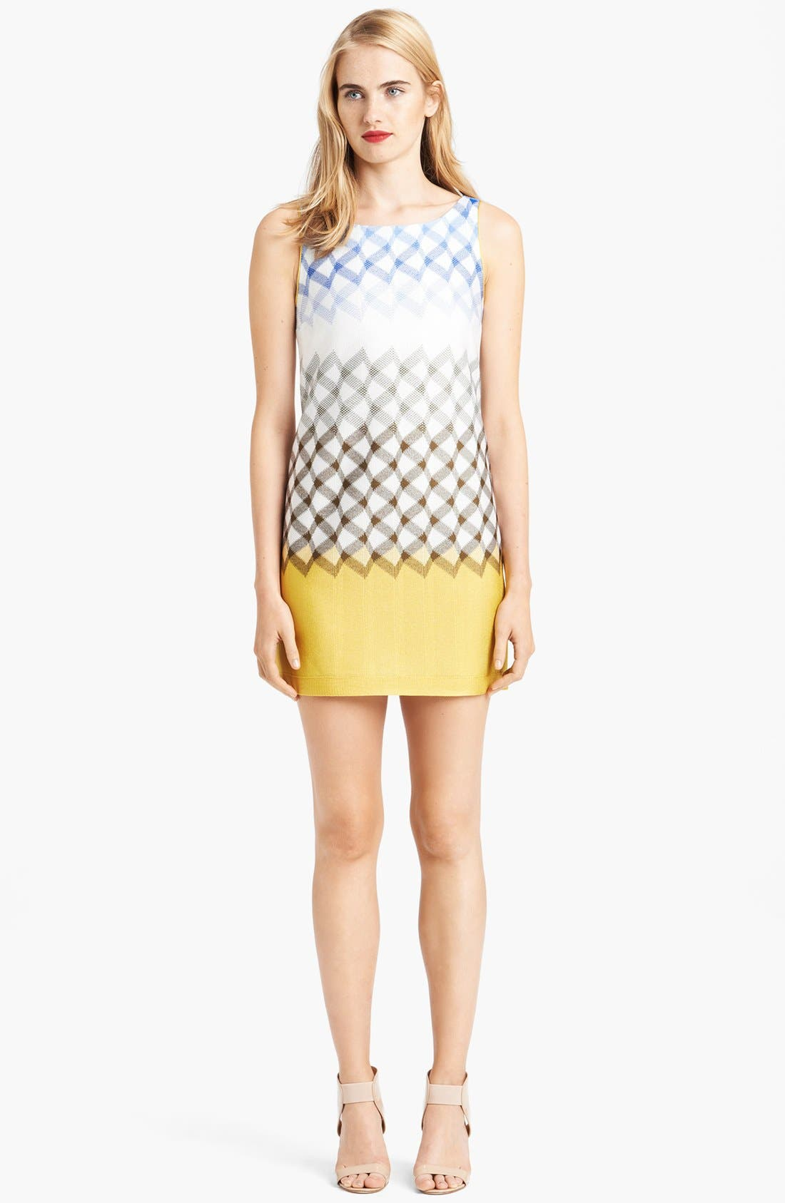 Alternate Image 1 Selected - Missoni Boatneck Geometric Dégradé Dress