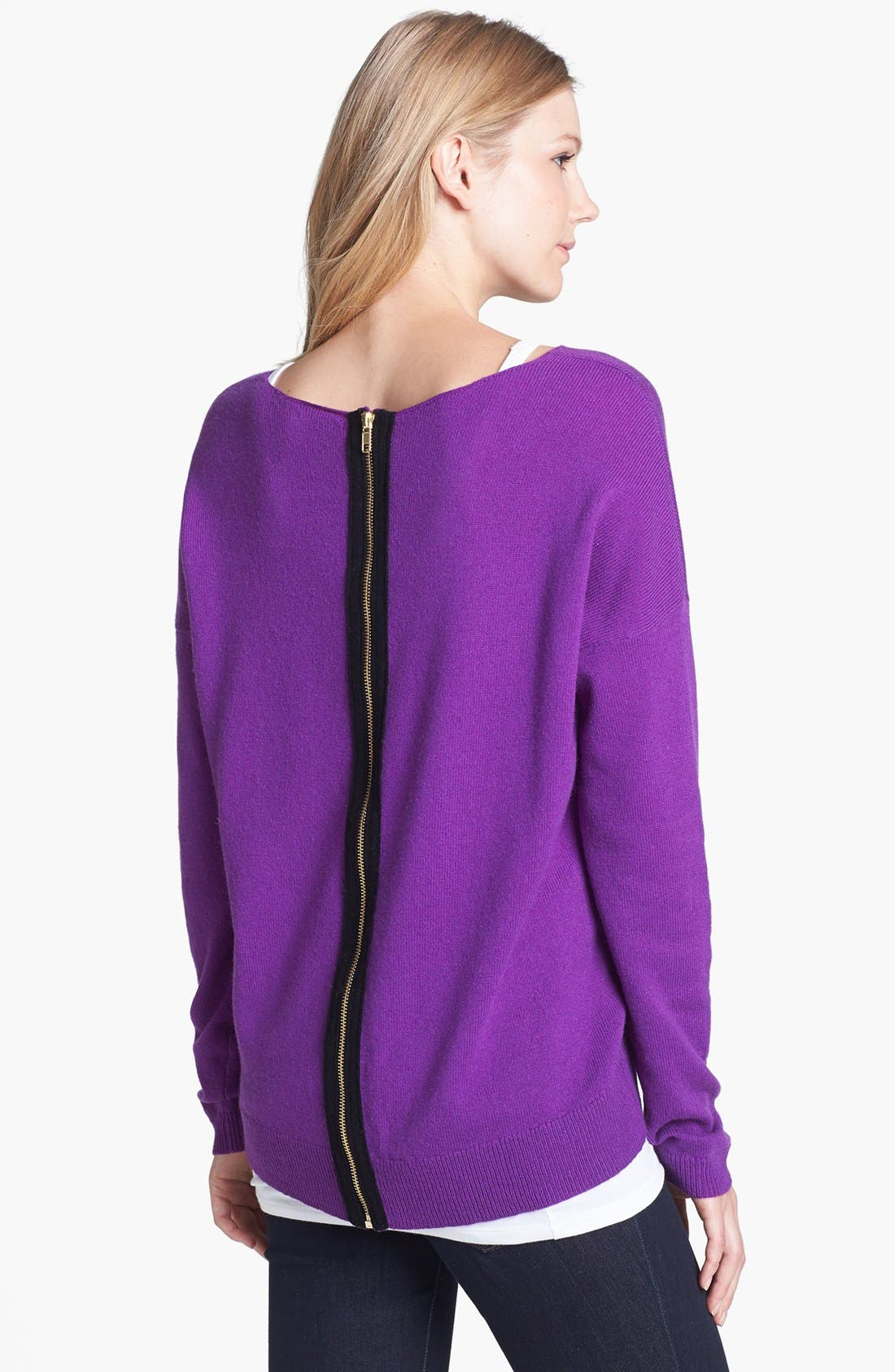 Alternate Image 1 Selected - Halogen® Wool & Cashmere Sweater