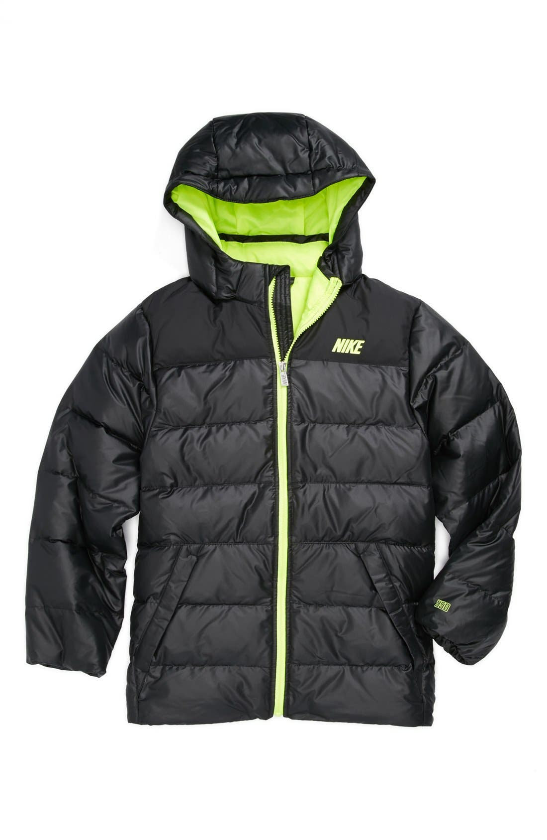 Alternate Image 1 Selected - Nike 'Alliance 550 HD' Quilted Down Jacket