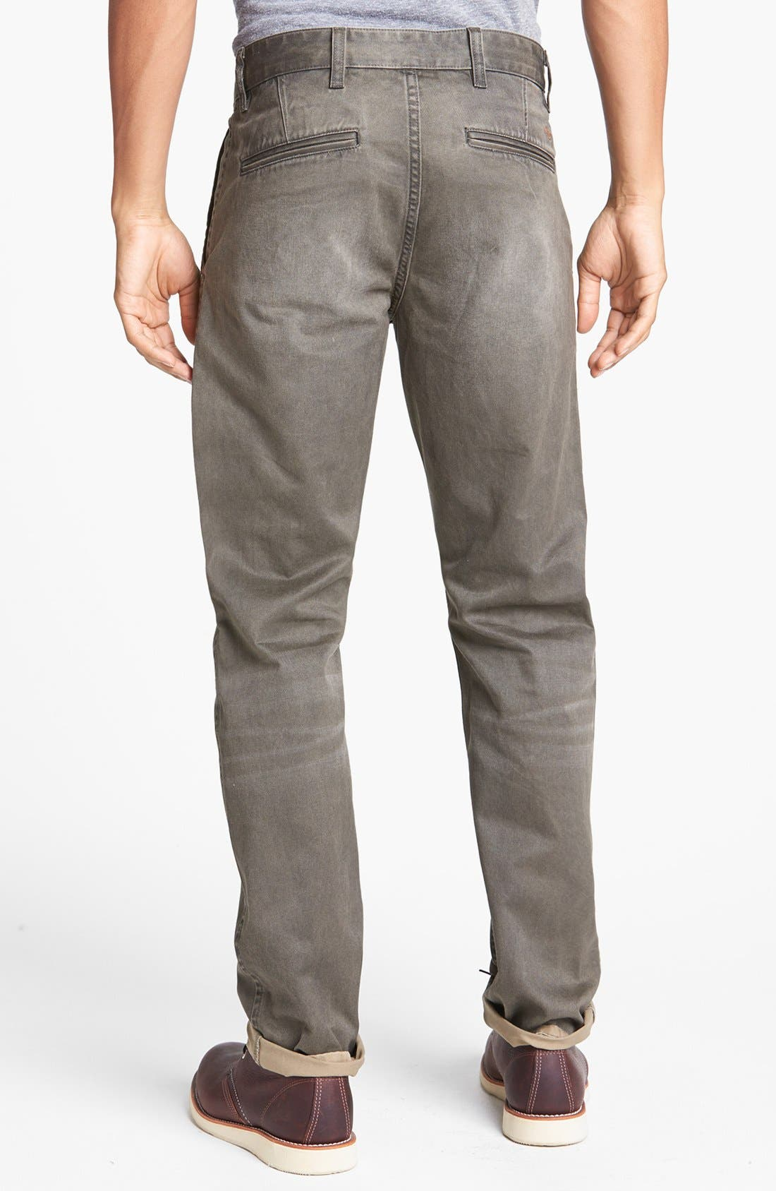 Alternate Image 2  - Dockers® 'Alpha' Slim Tapered Leg Chinos