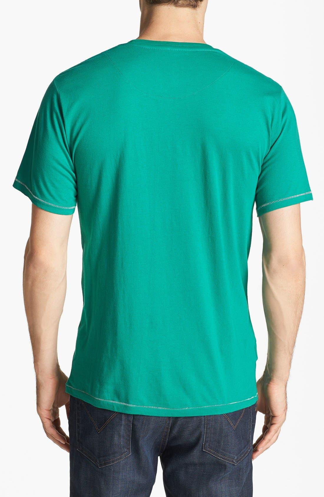 Alternate Image 2  - Mitchell & Ness 'Seattle Supersonics' T-Shirt