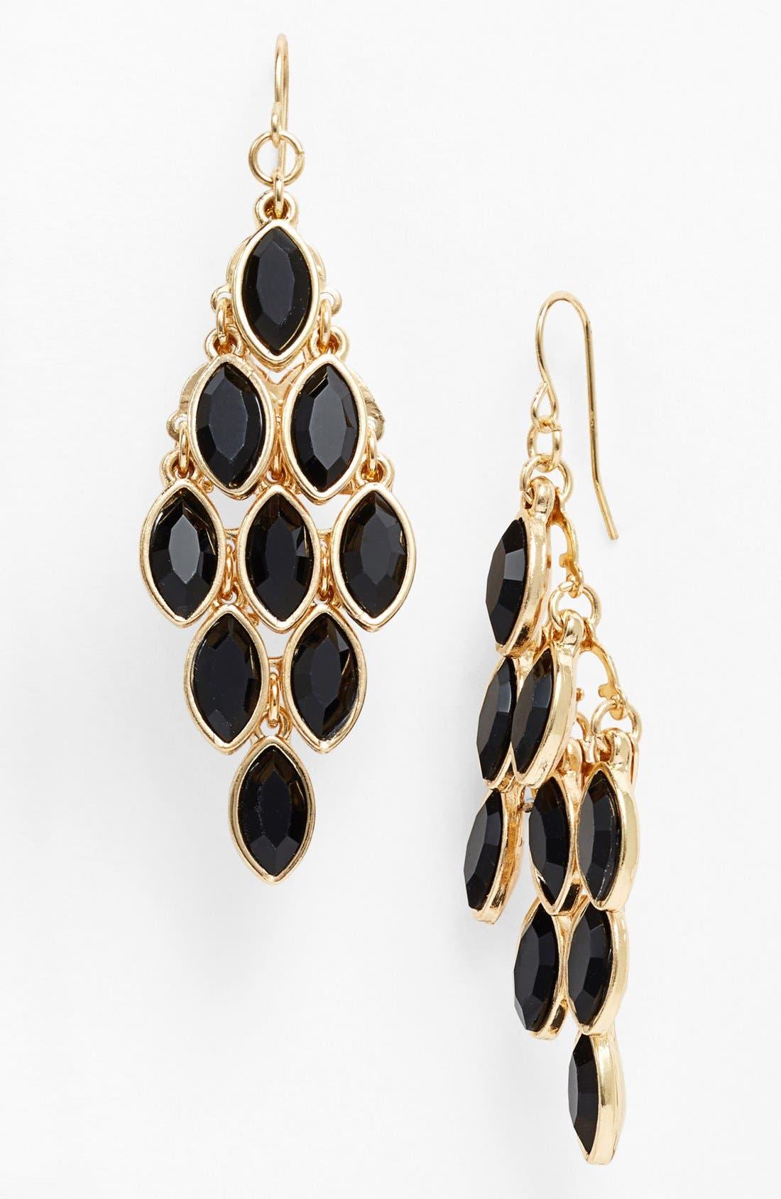 Alternate Image 1 Selected - Tasha Crystal Chandelier Earrings