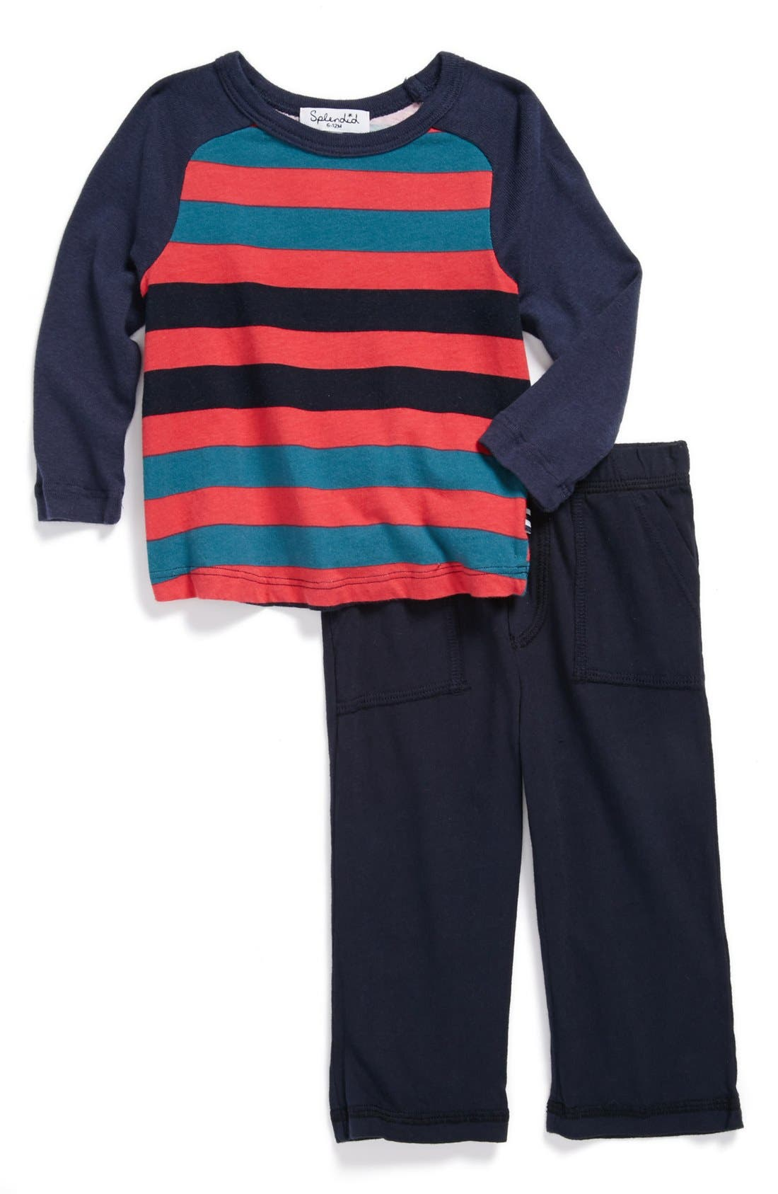 Alternate Image 1 Selected - Splendid T-Shirt & Pants (Baby)