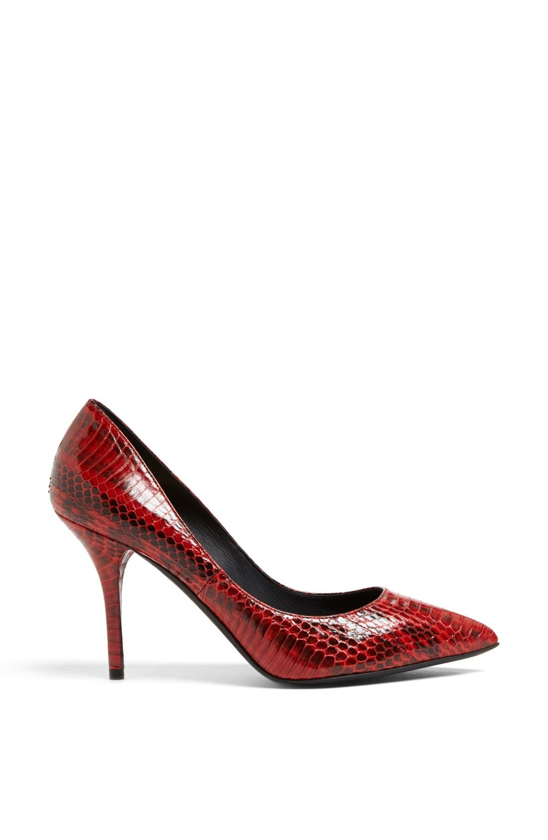 Alternate Image 4  - Dolce&Gabbana 'Elaphe' Snakeskin Pump
