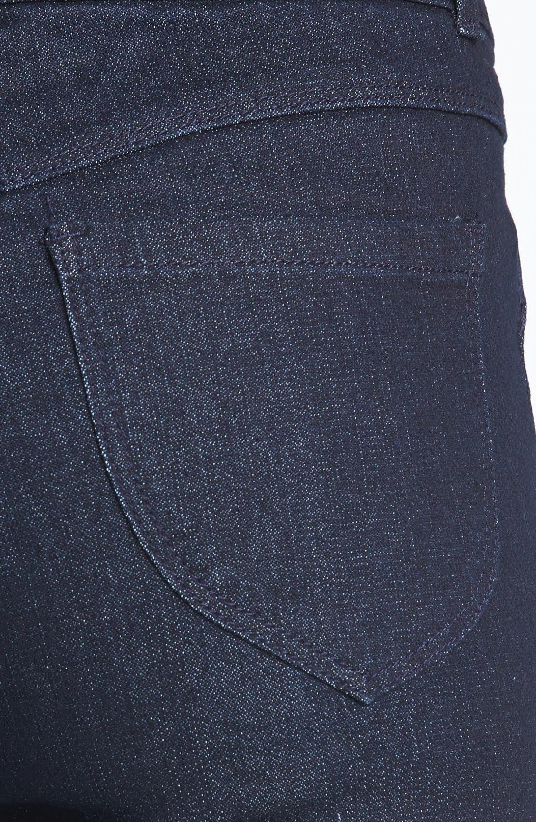 Alternate Image 3  - Jolt High Waist Skinny Ankle Jeans (Juniors) (Online Only)