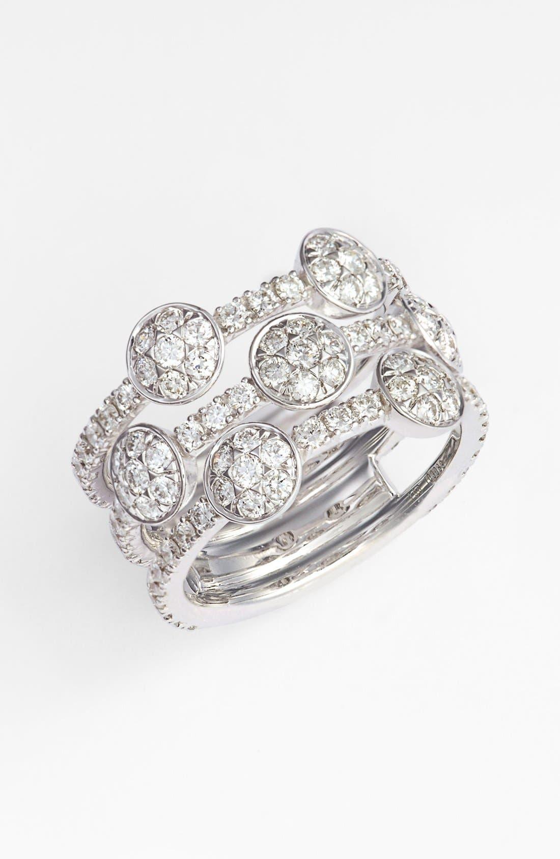 Alternate Image 1 Selected - Kwiat 'Moonrise' Diamond Stack Ring (Nordstrom Exclusive)