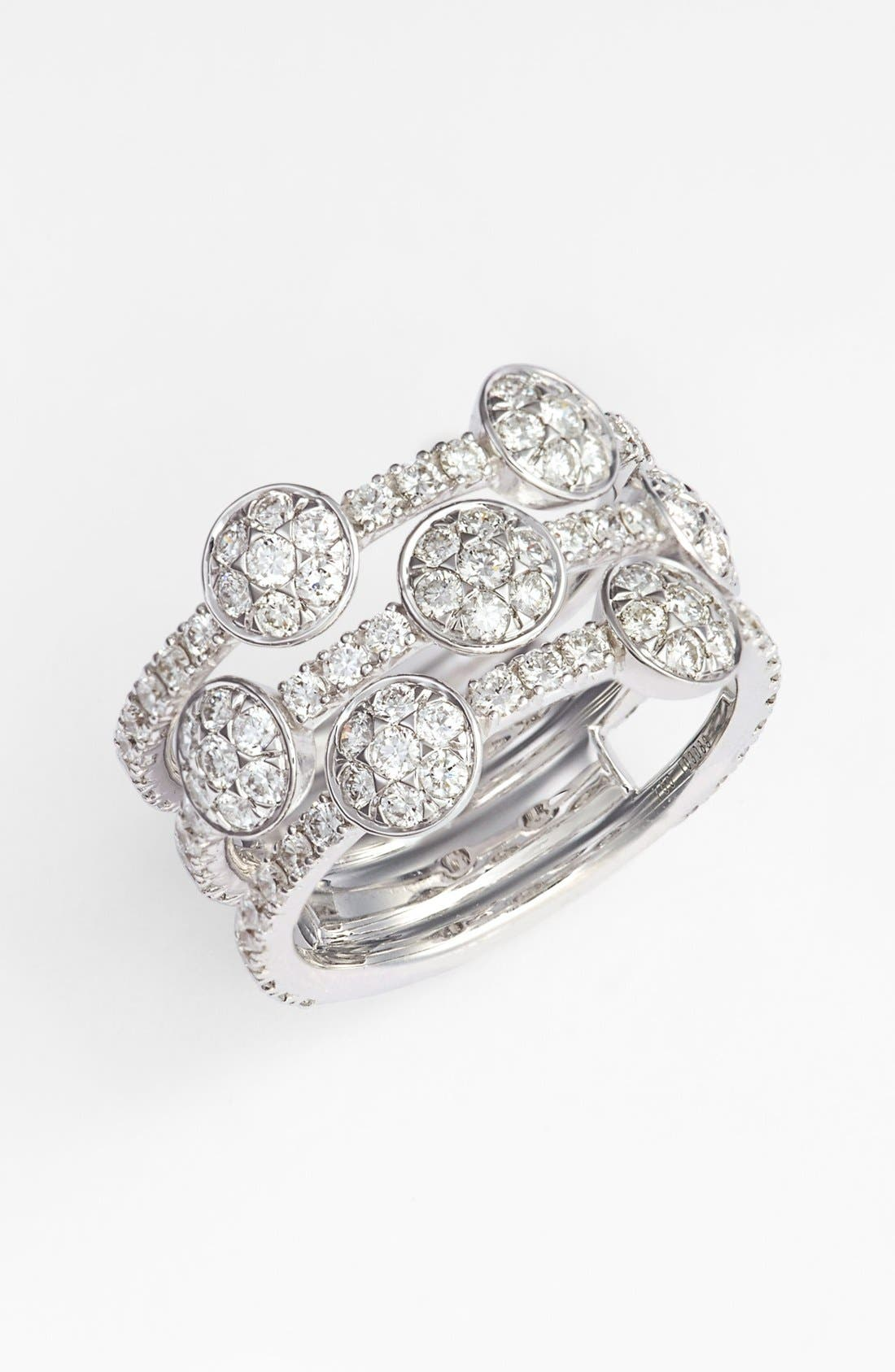 Main Image - Kwiat 'Moonrise' Diamond Stack Ring (Nordstrom Exclusive)