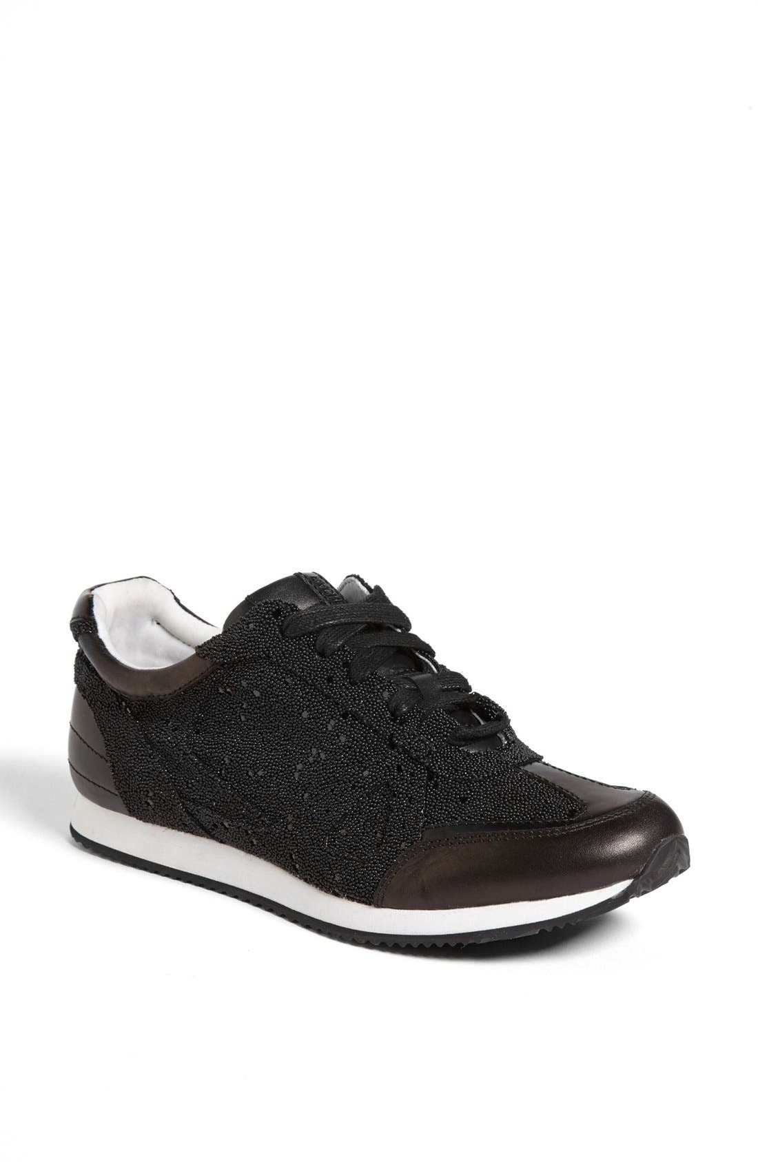 Alternate Image 1 Selected - Rachel Zoe 'Jeni' Lace-Up Sneaker